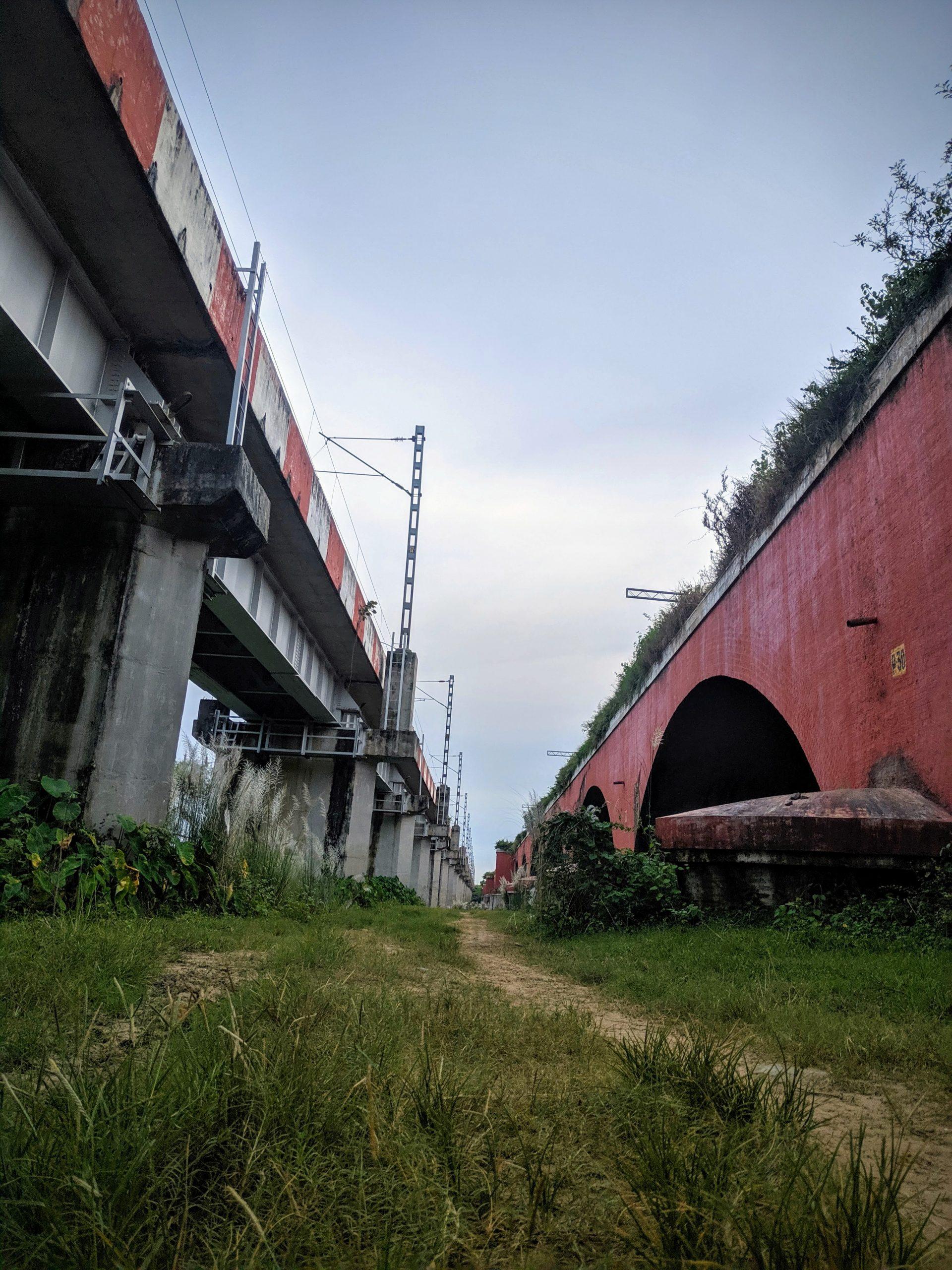 Two railway bridges