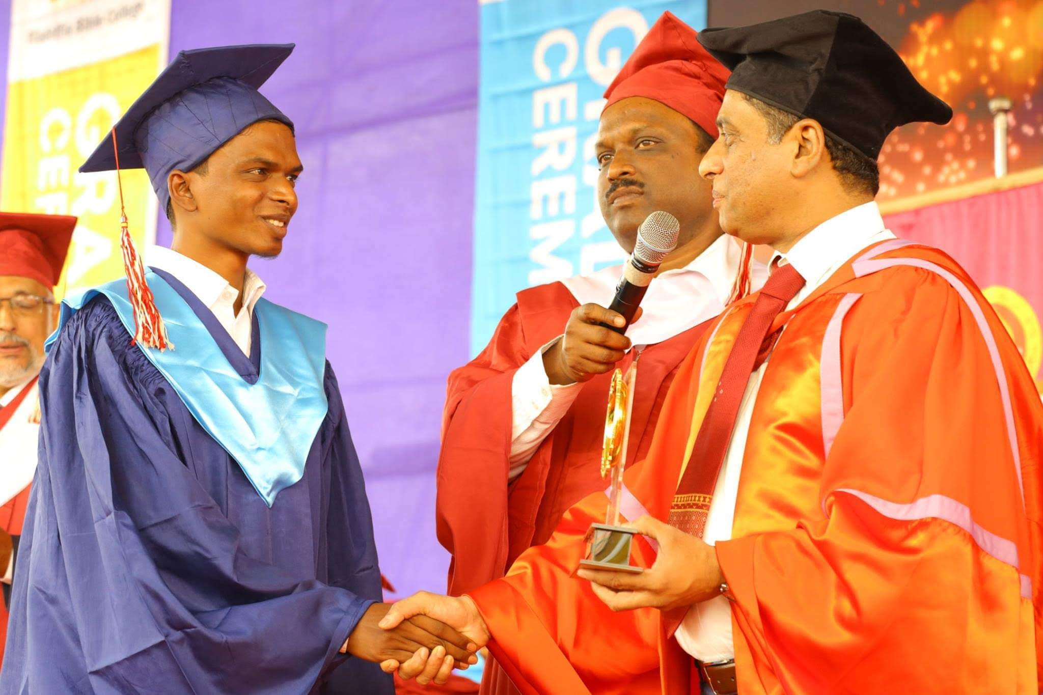 Graduation ceremony of a university