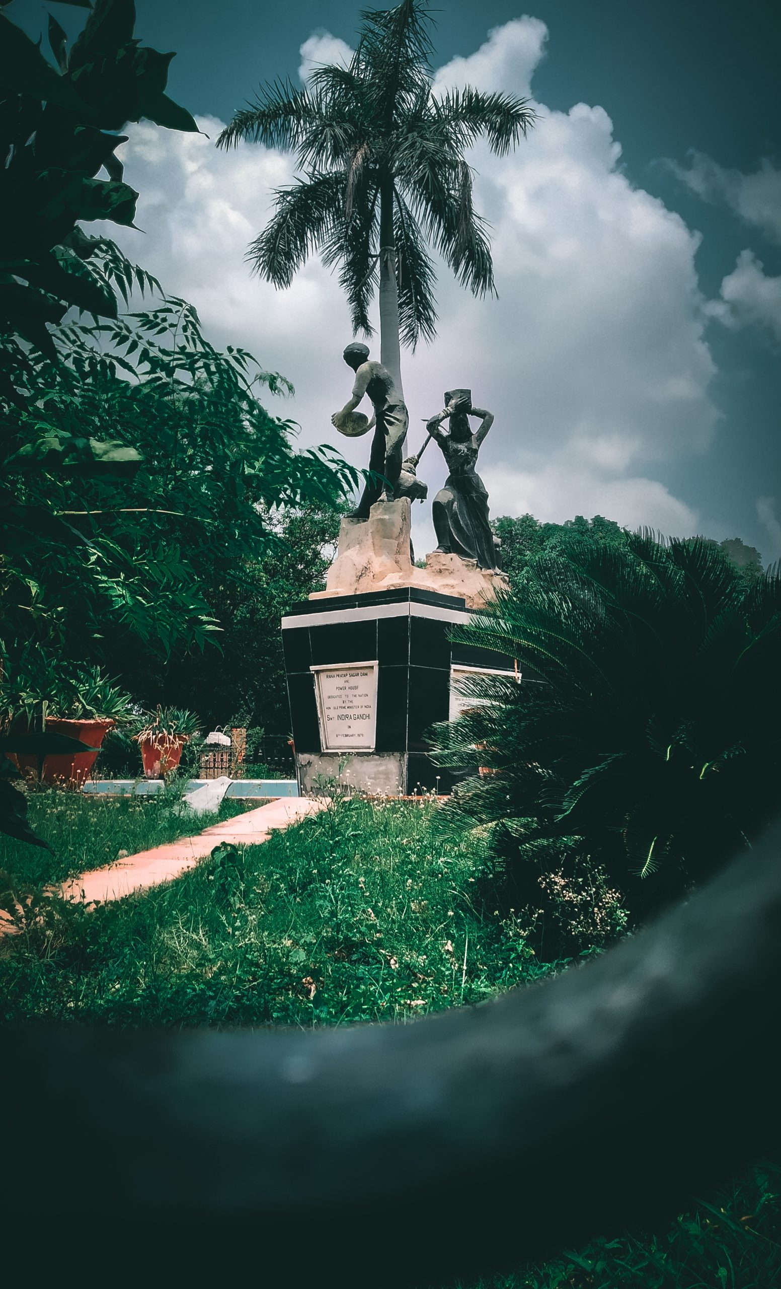 Statues of workers
