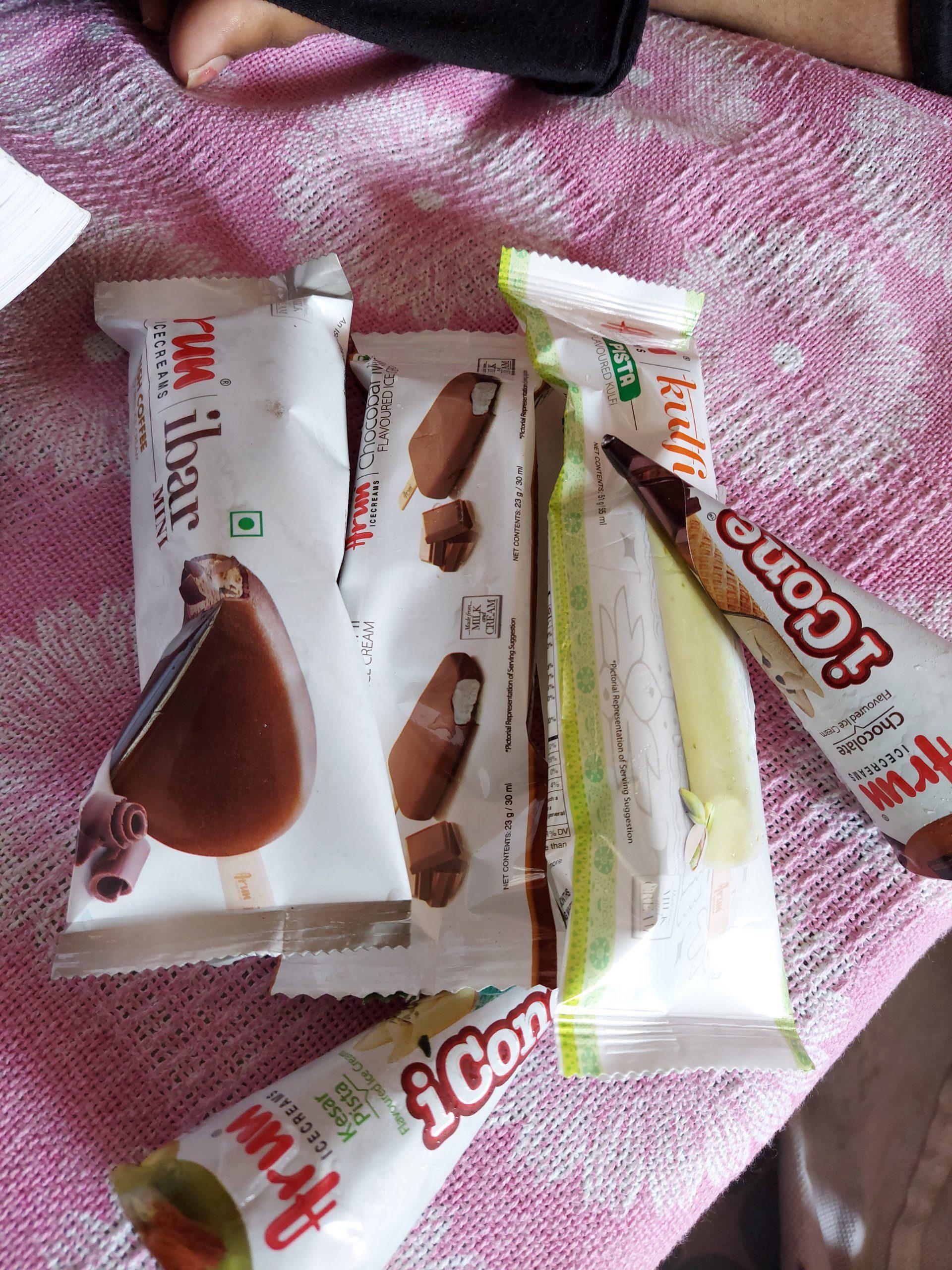 Ice cream packs