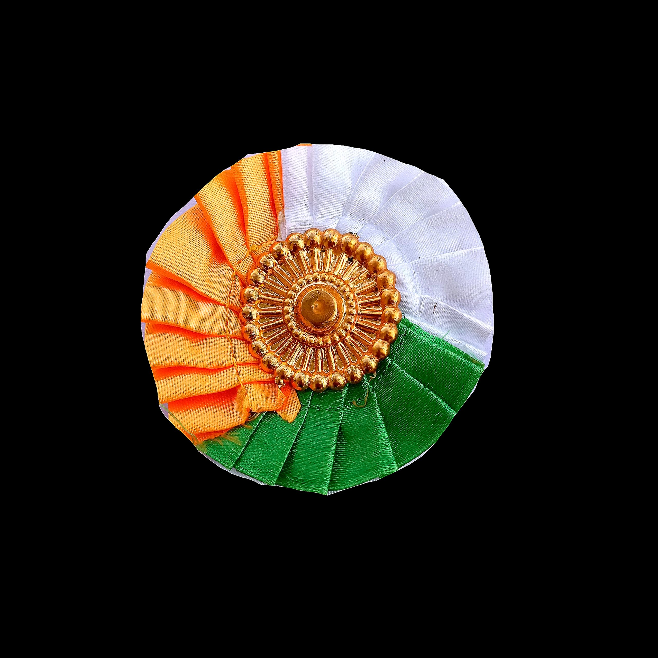 Indian Tricolor Badge