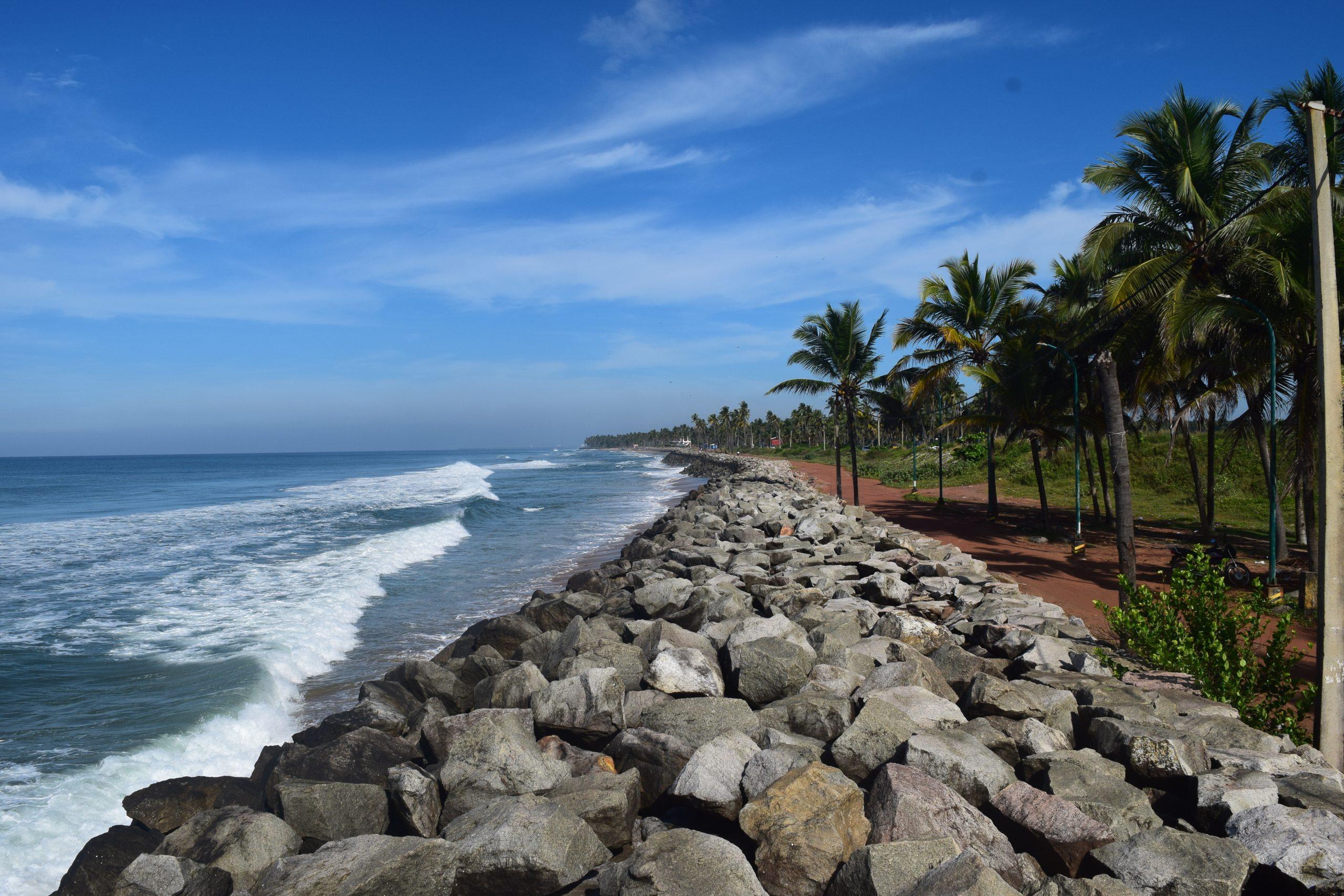 Kappil beach in Trivandrum
