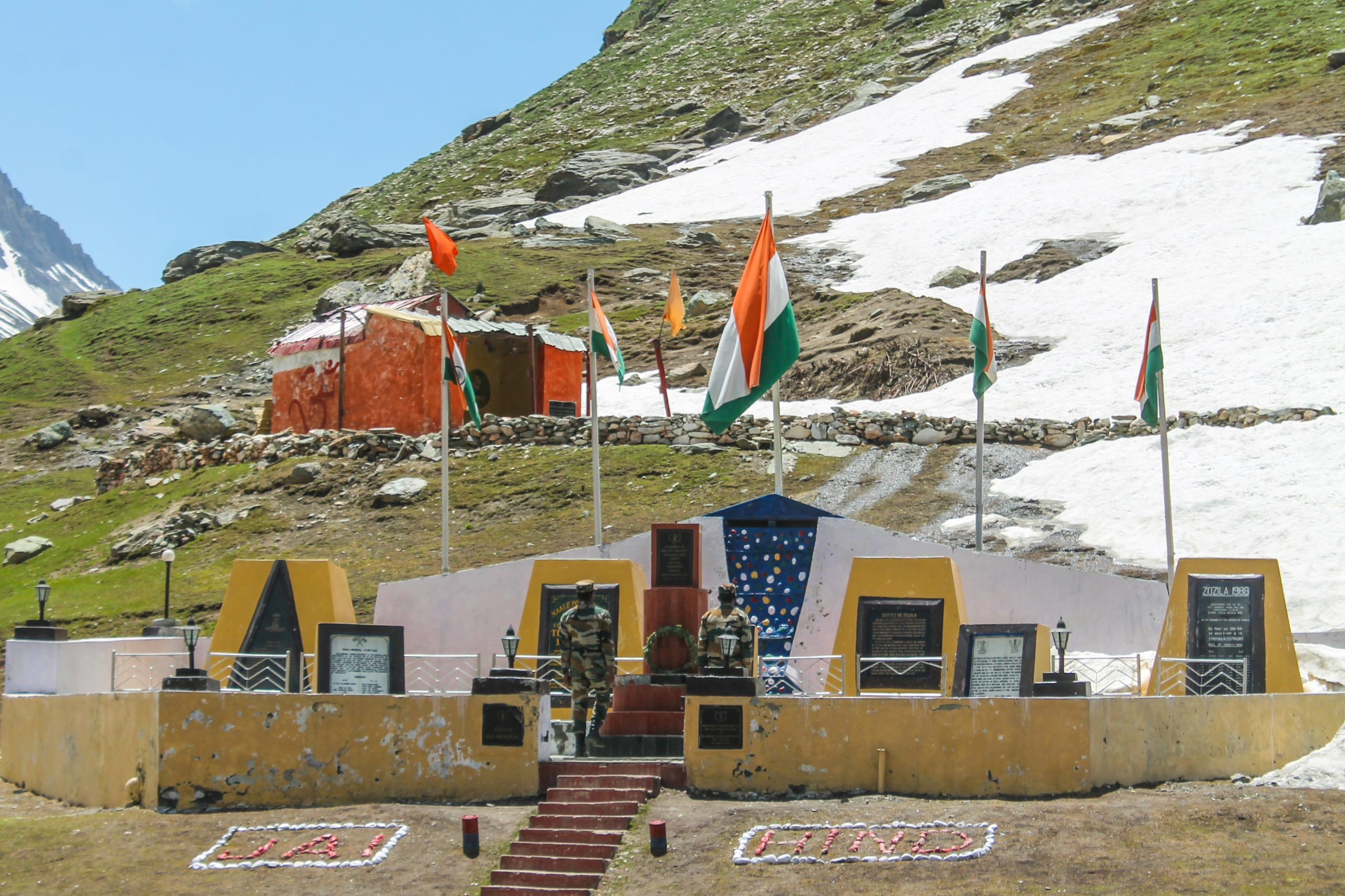 Kargil war memorial in Himalaya
