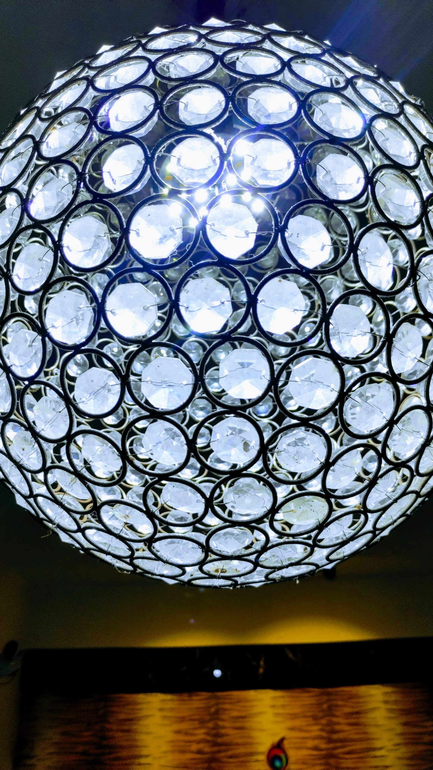 Lights in a sphere