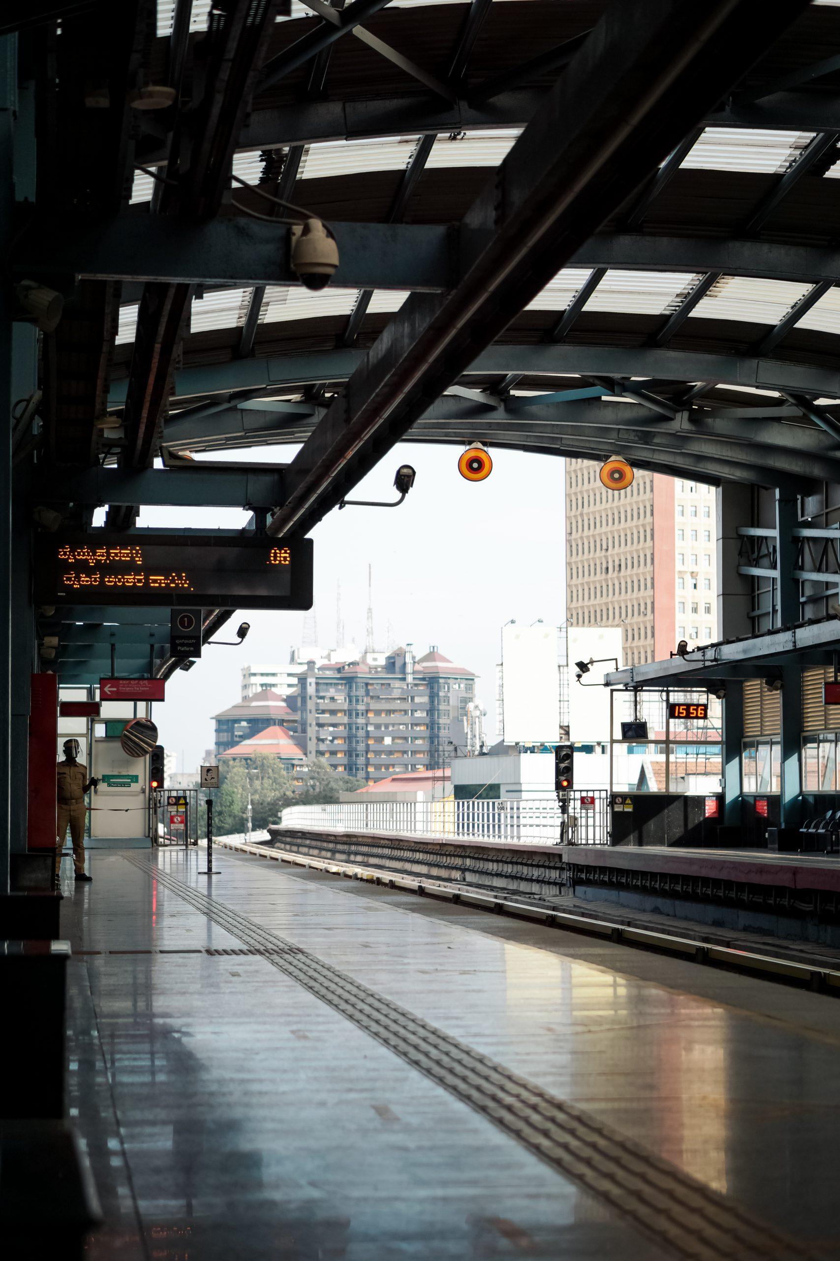 metro station platform
