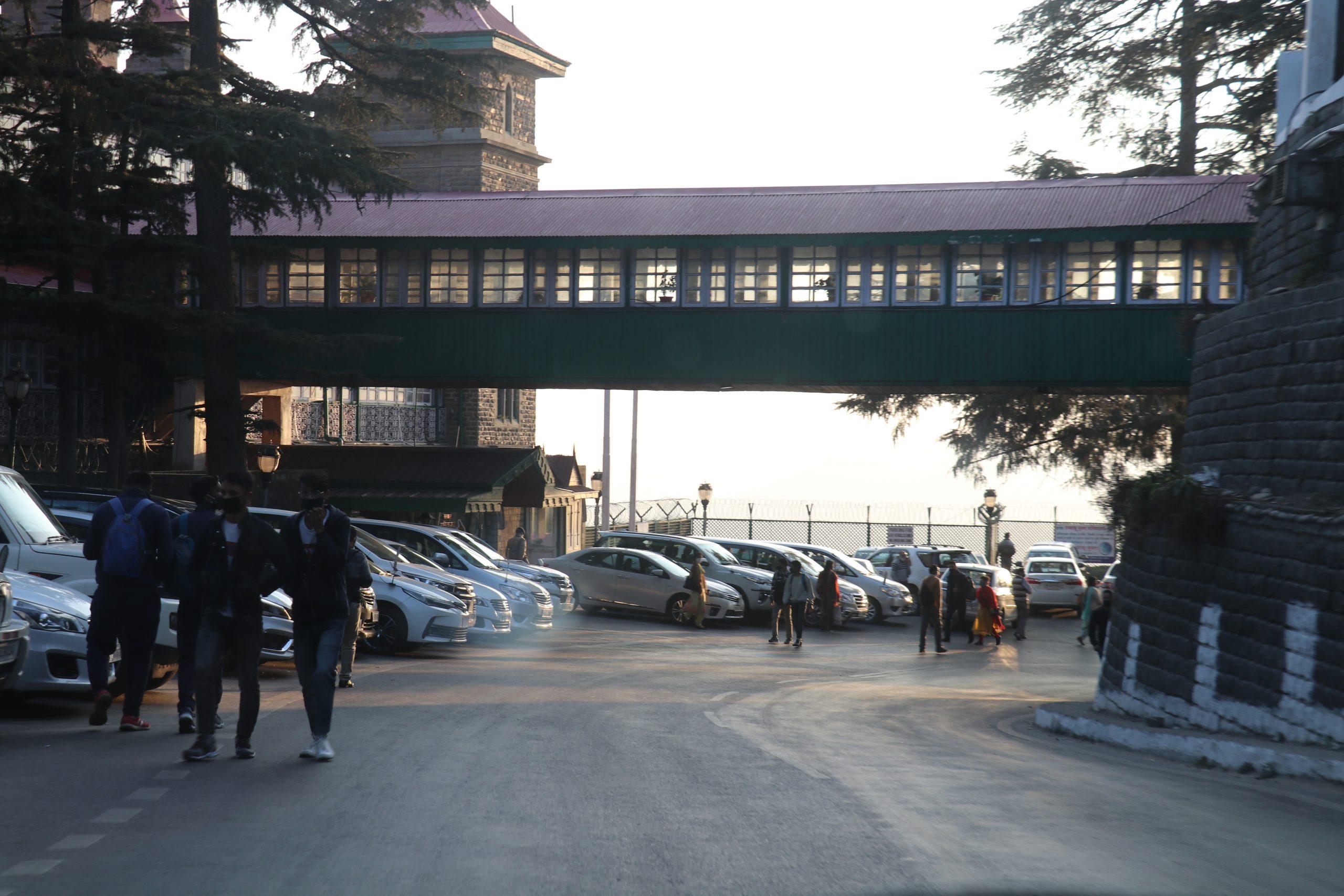 Morning in Shimla