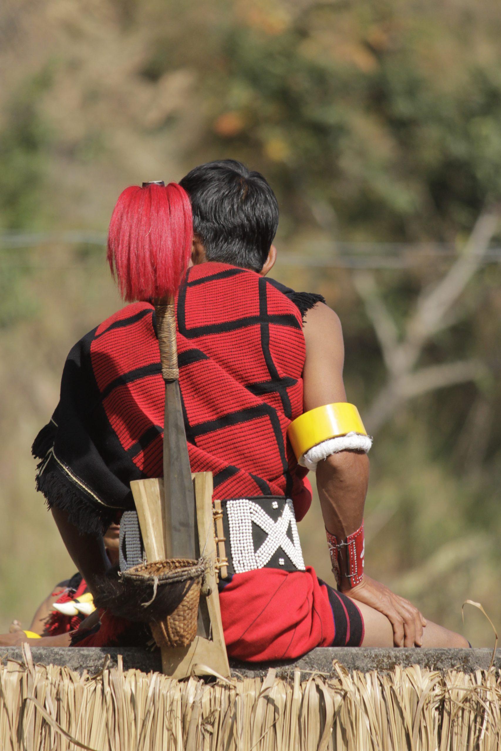 Nagaland Tribe man