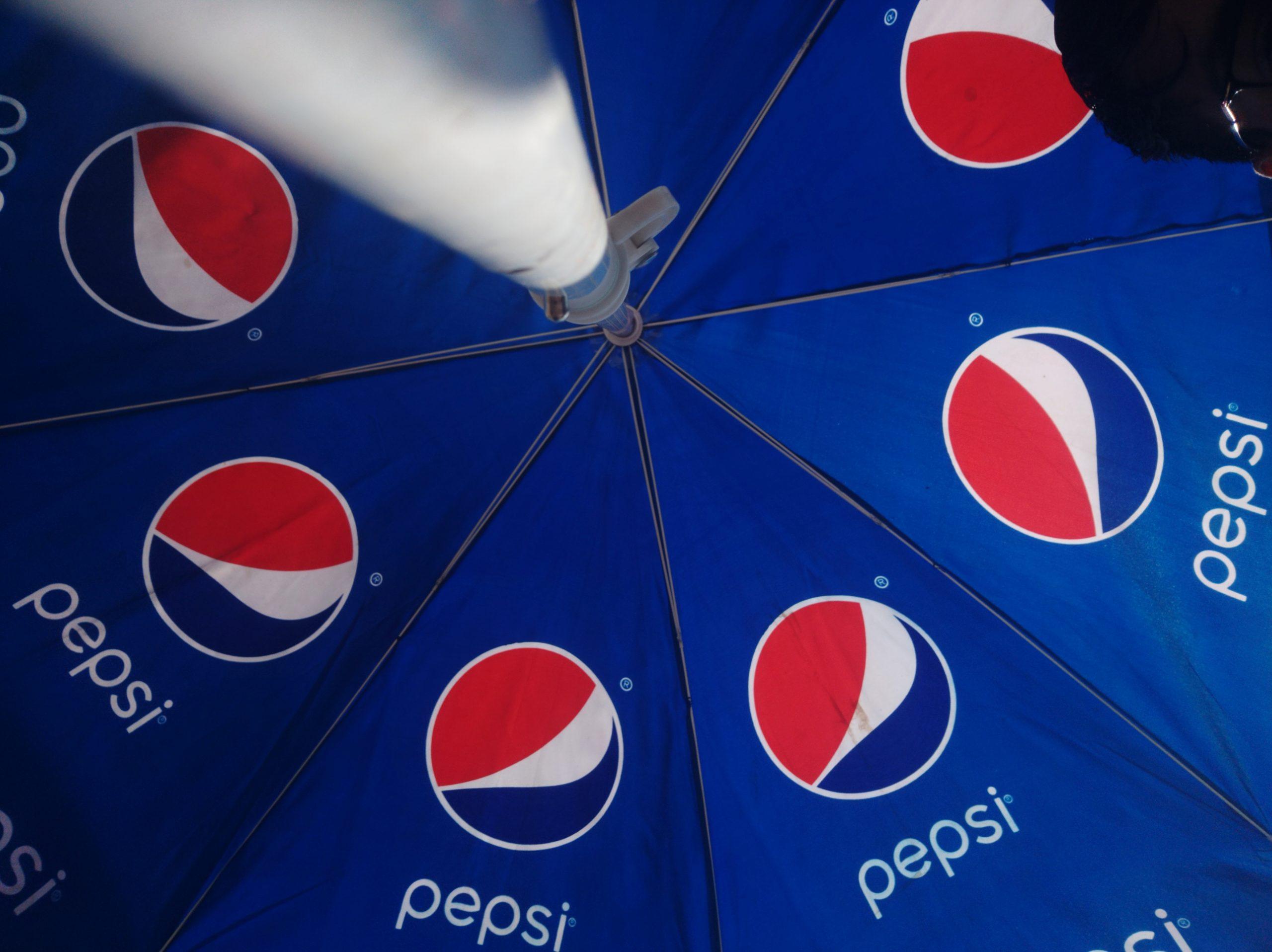 Pepsi umbrella