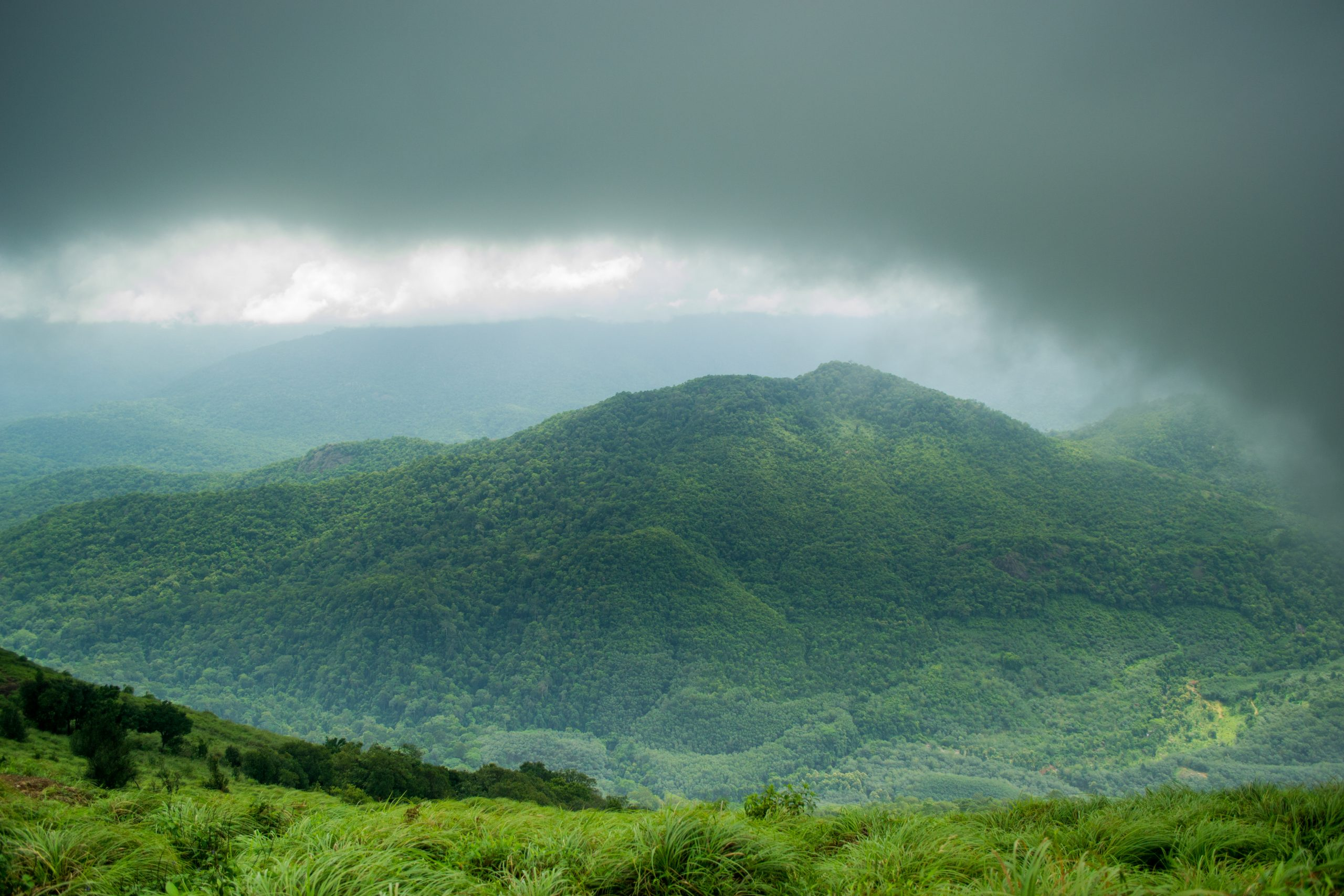 Ponmudi Mountains