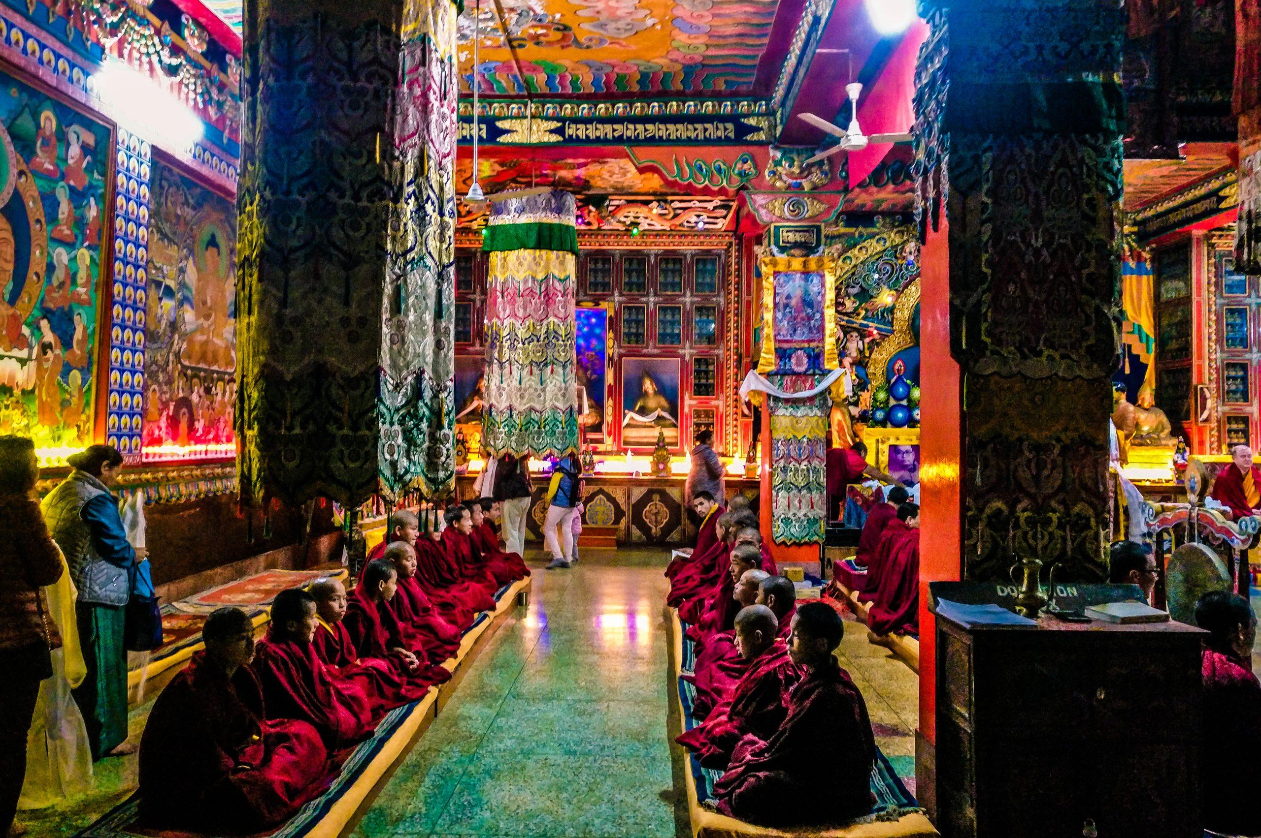 Priests at a monasteries