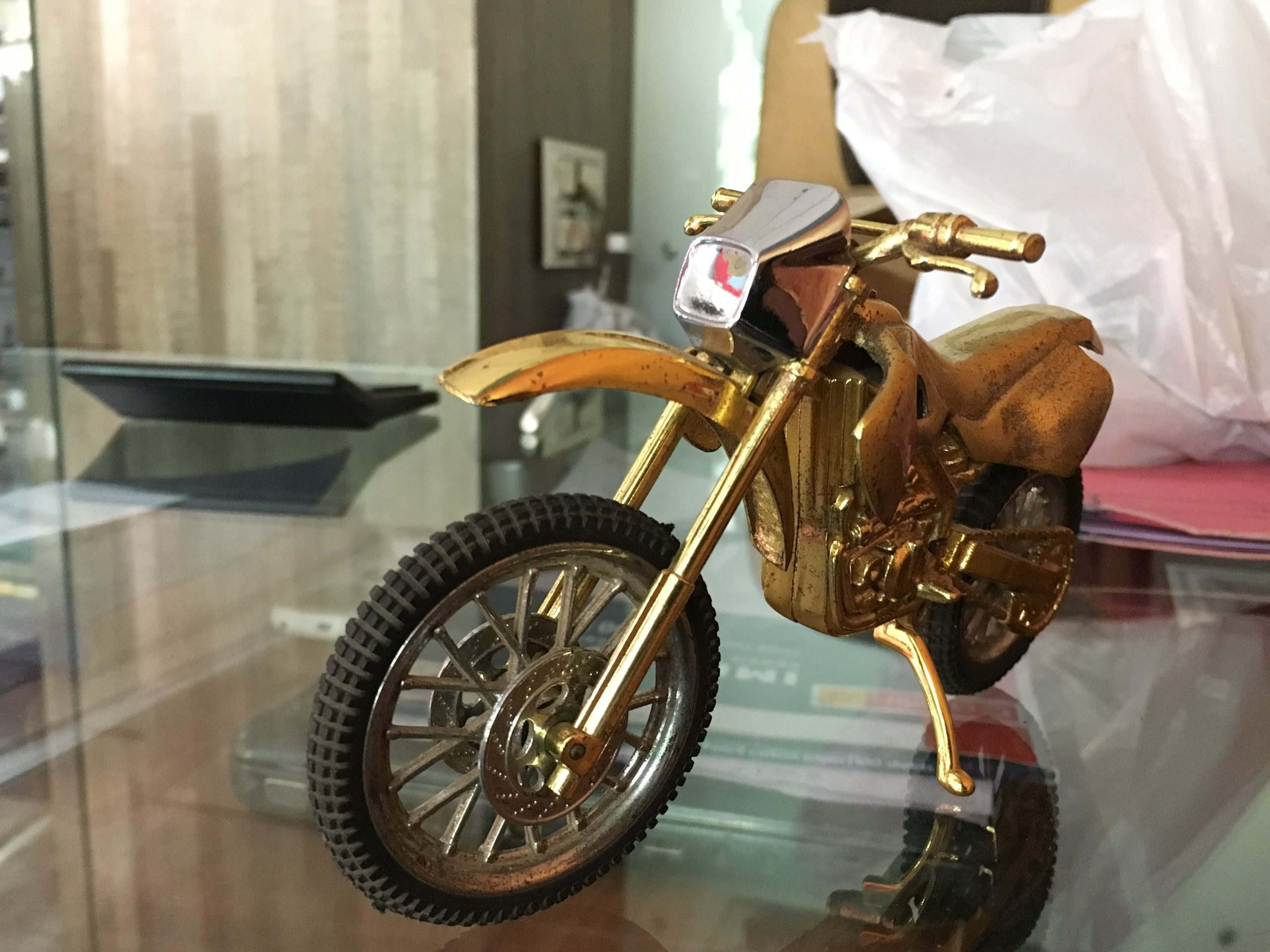 Miniature of motorcycle