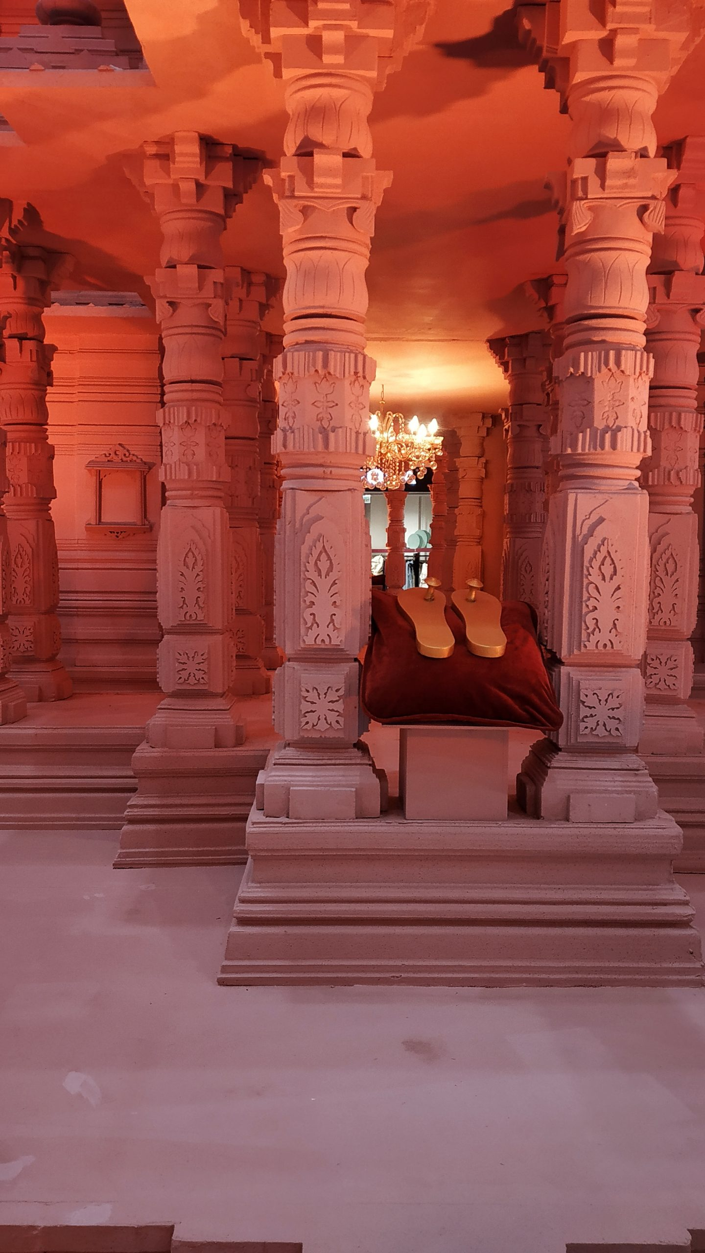 pillars in temple