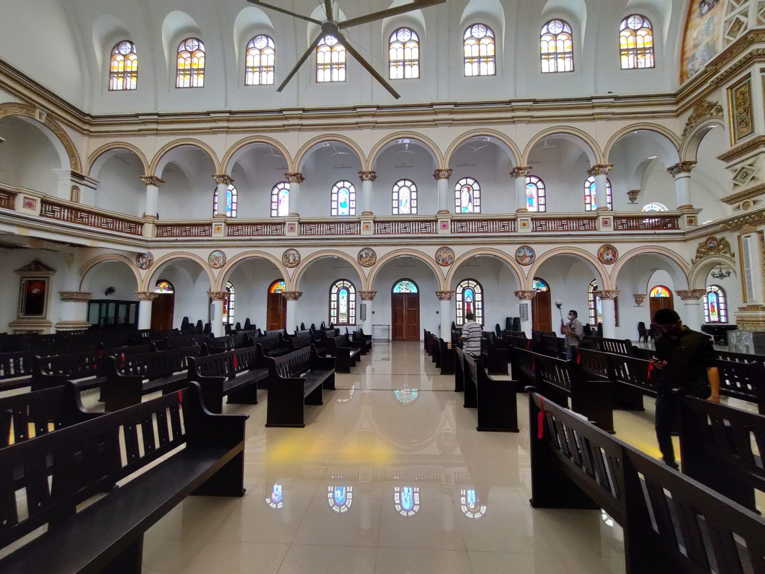 Ramapuram Church interior