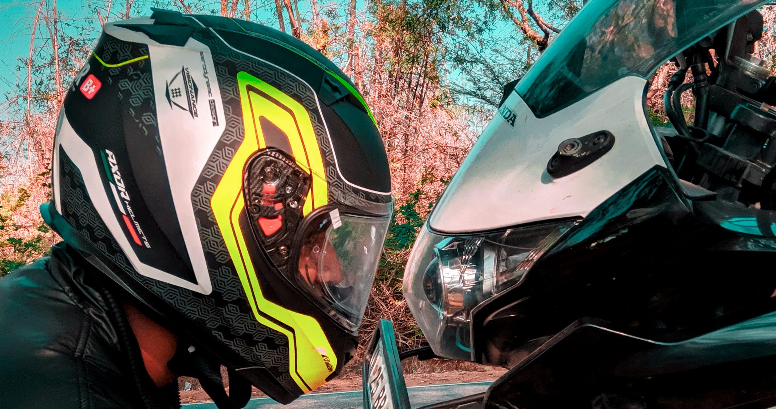 Helmet and headlight