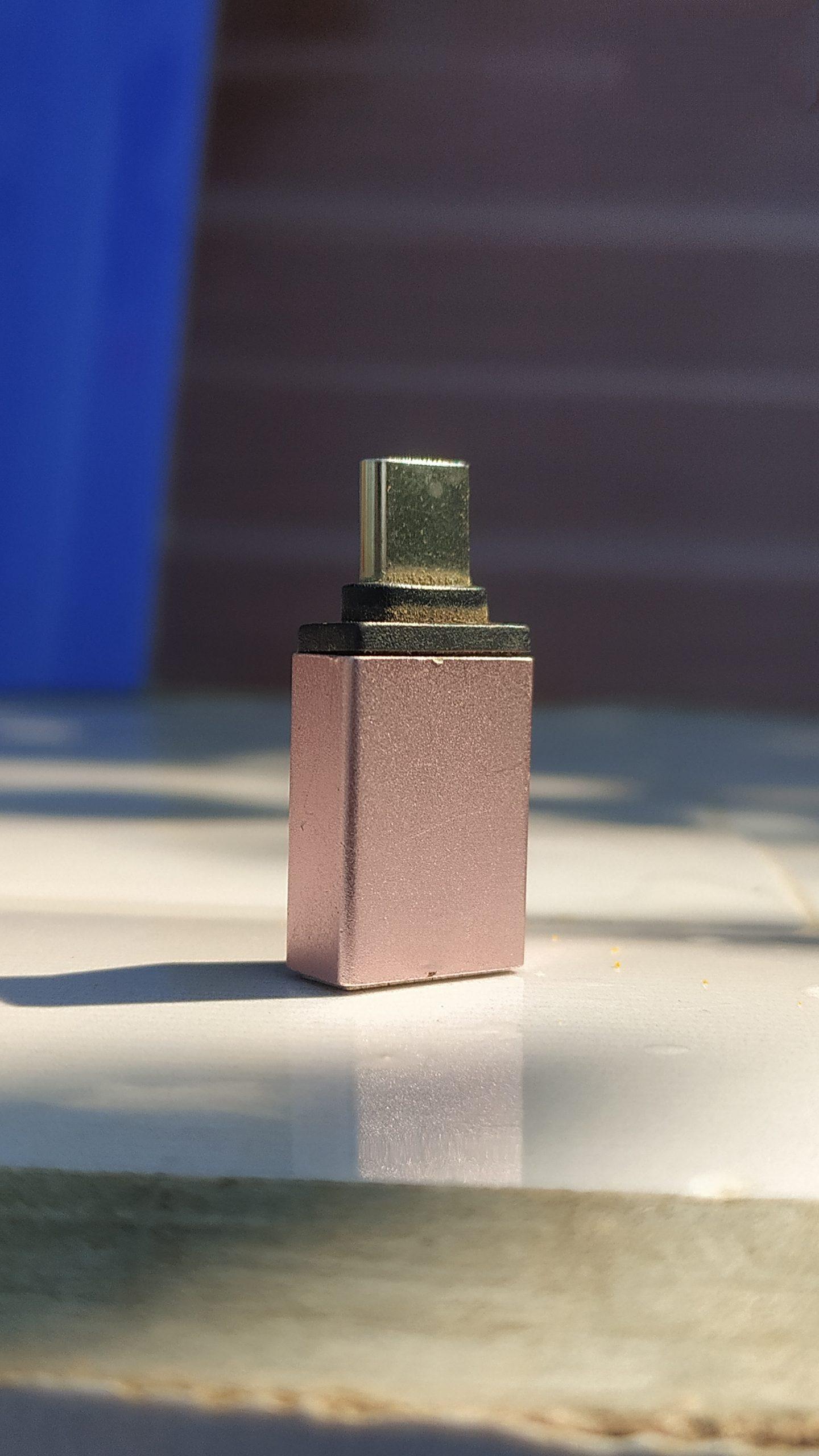 A micro USB to USB