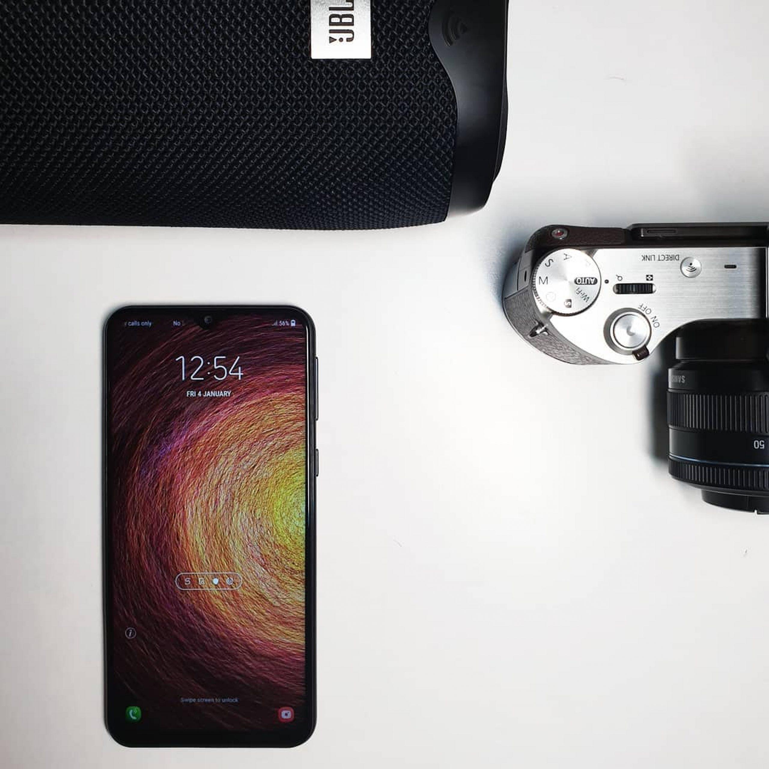 mobile, camera, speaker