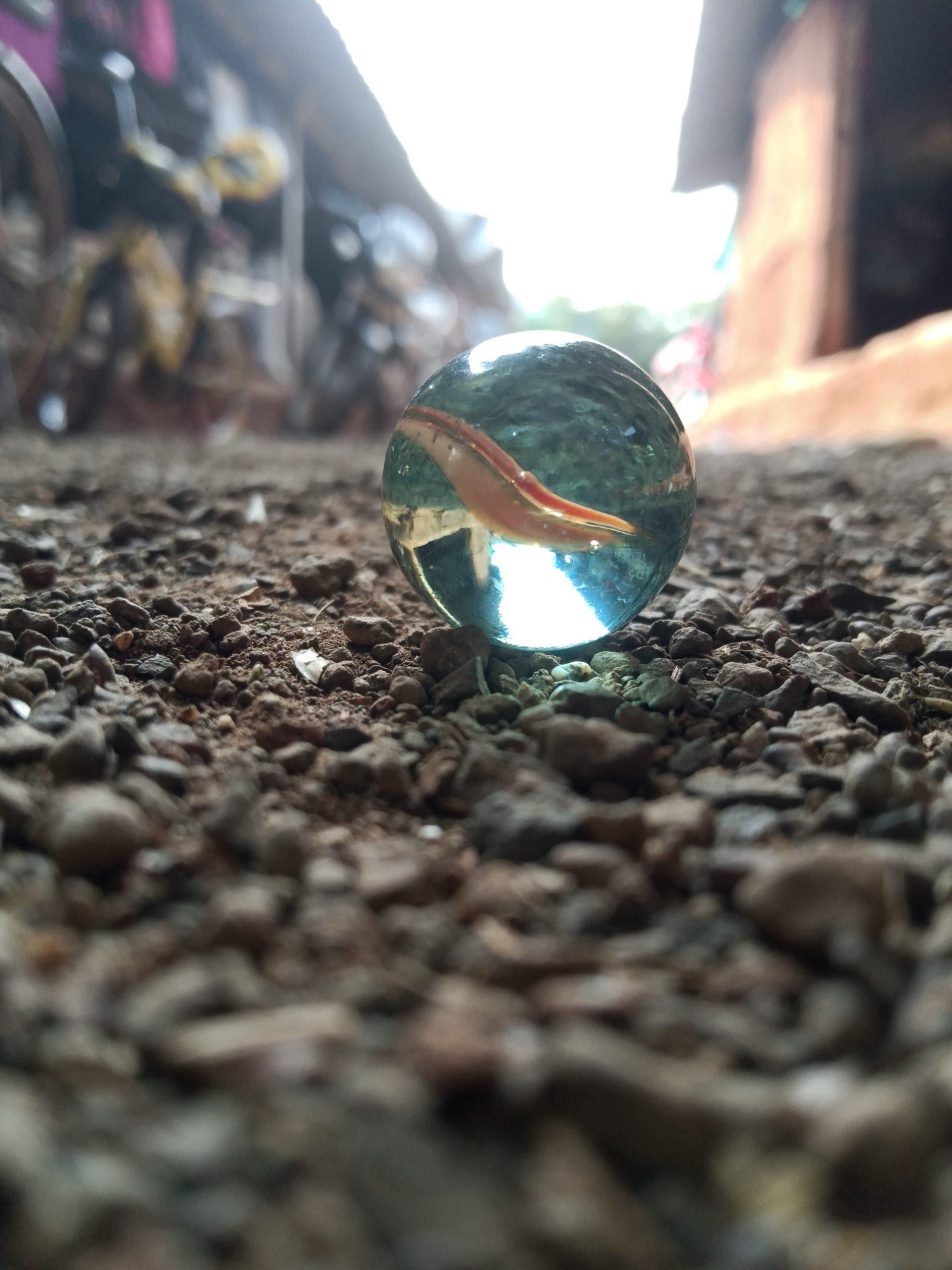 A marble ball