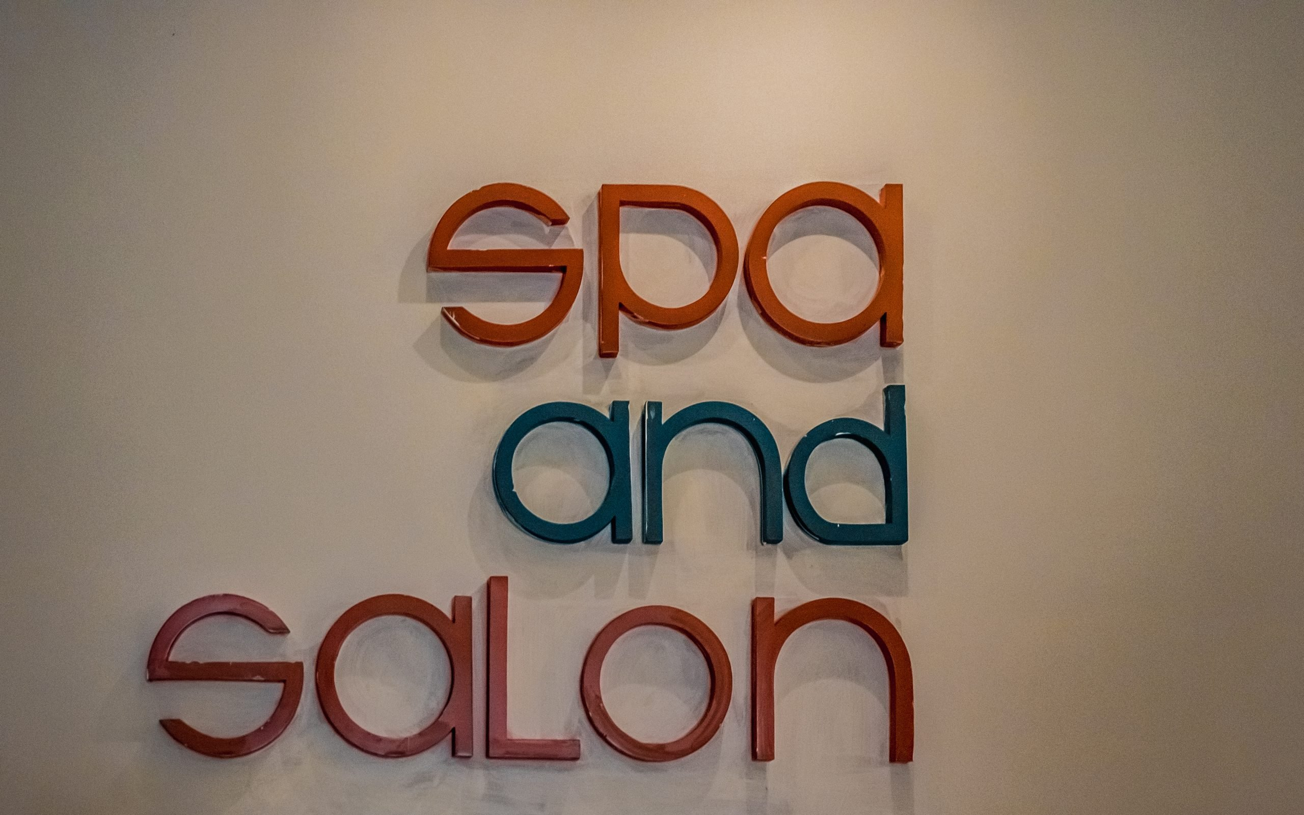 Spa and salon written