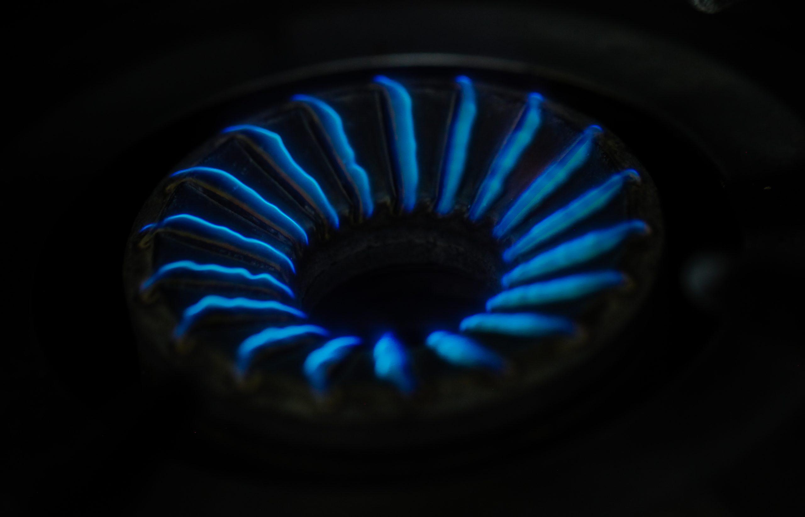 burned stove
