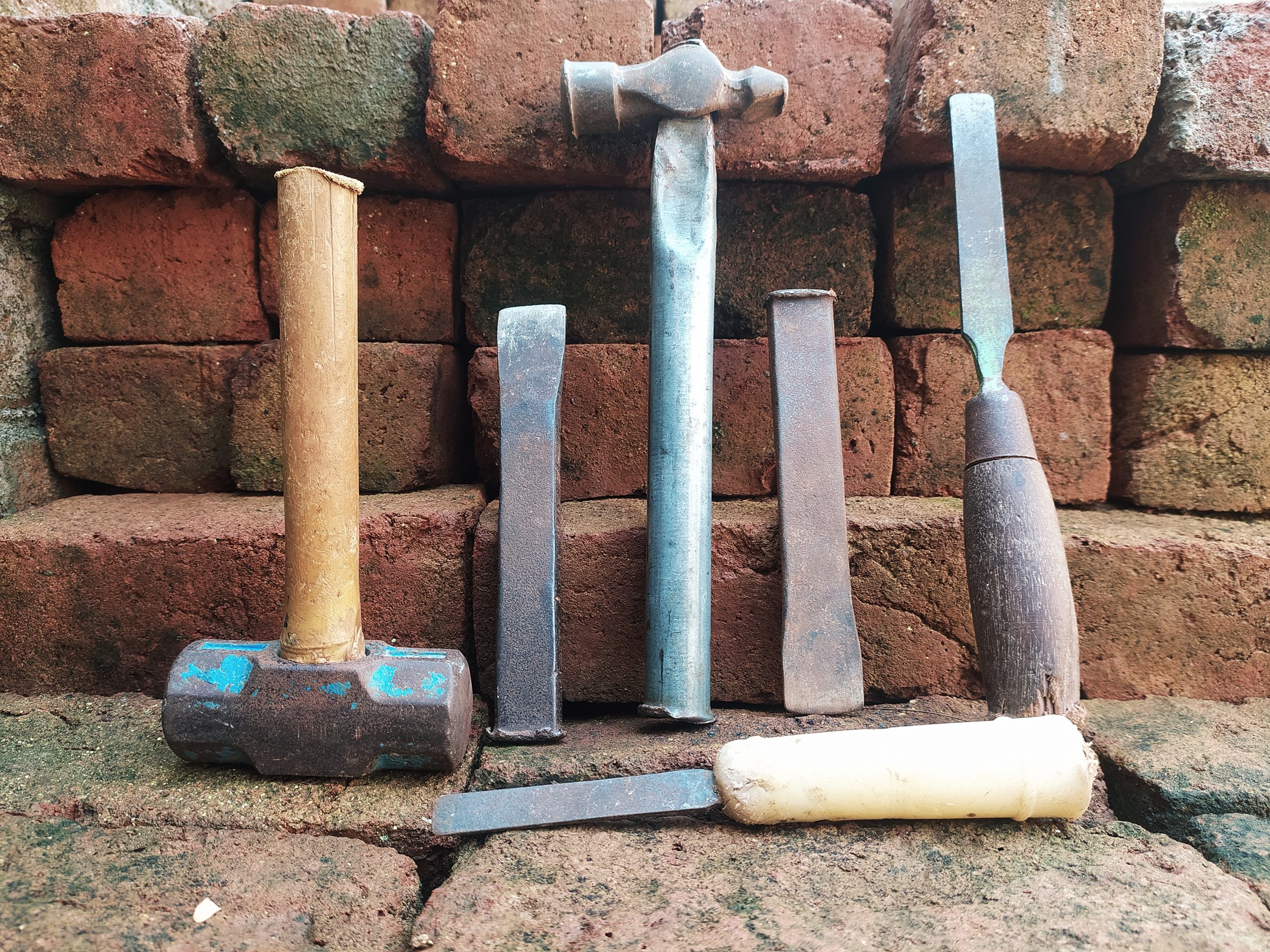 Tools of a plumber