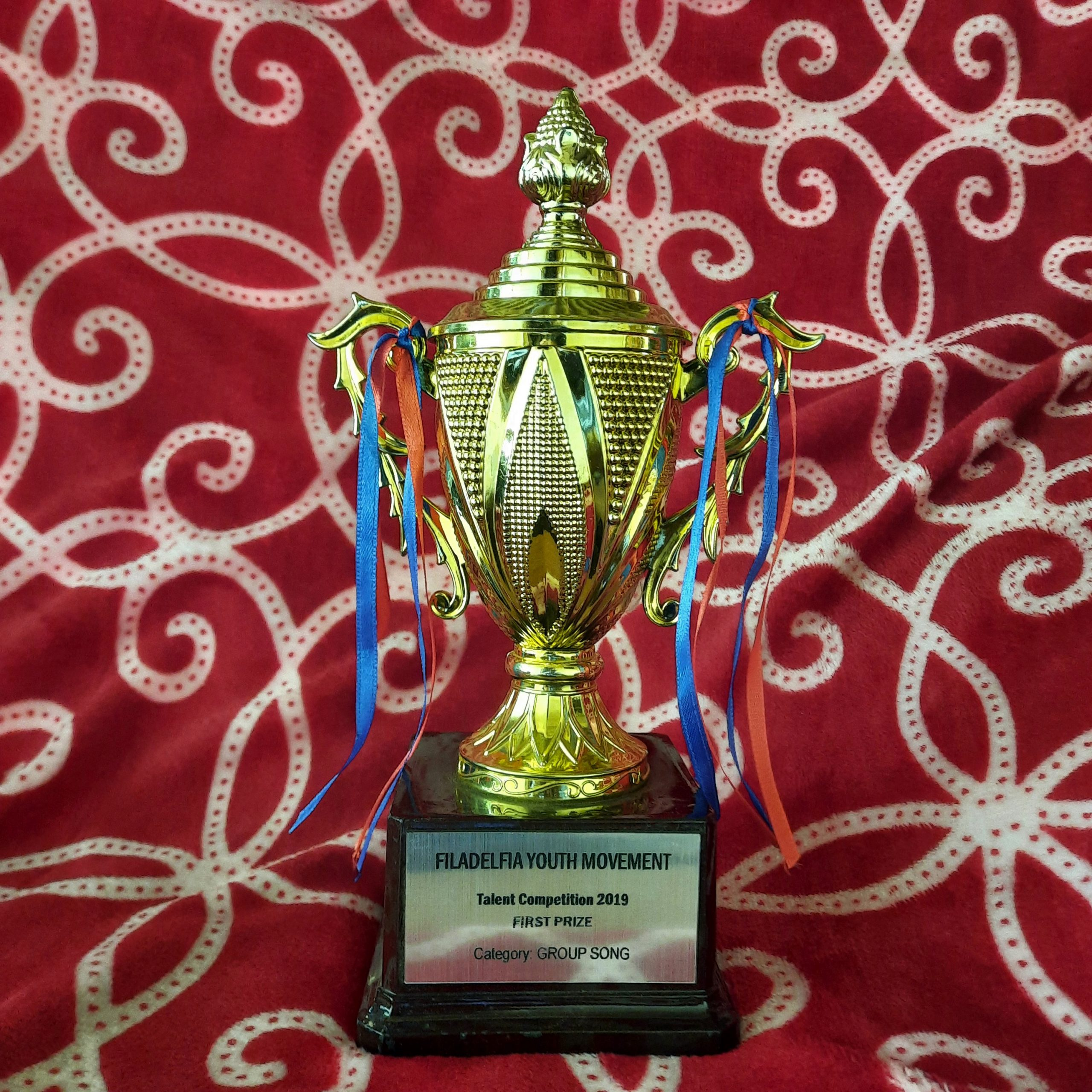 Trophy of a competition