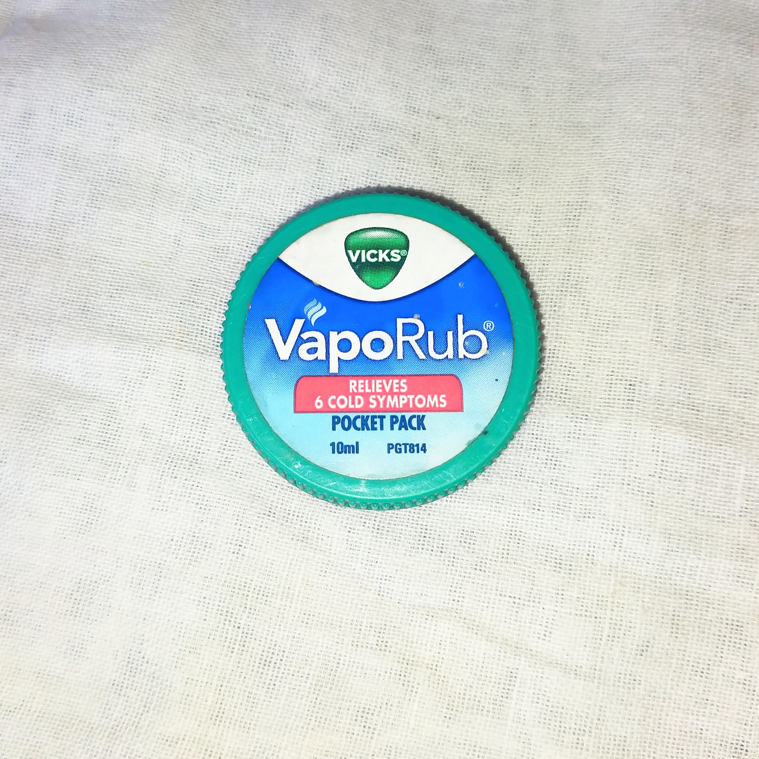 Vicks vaporub for cold