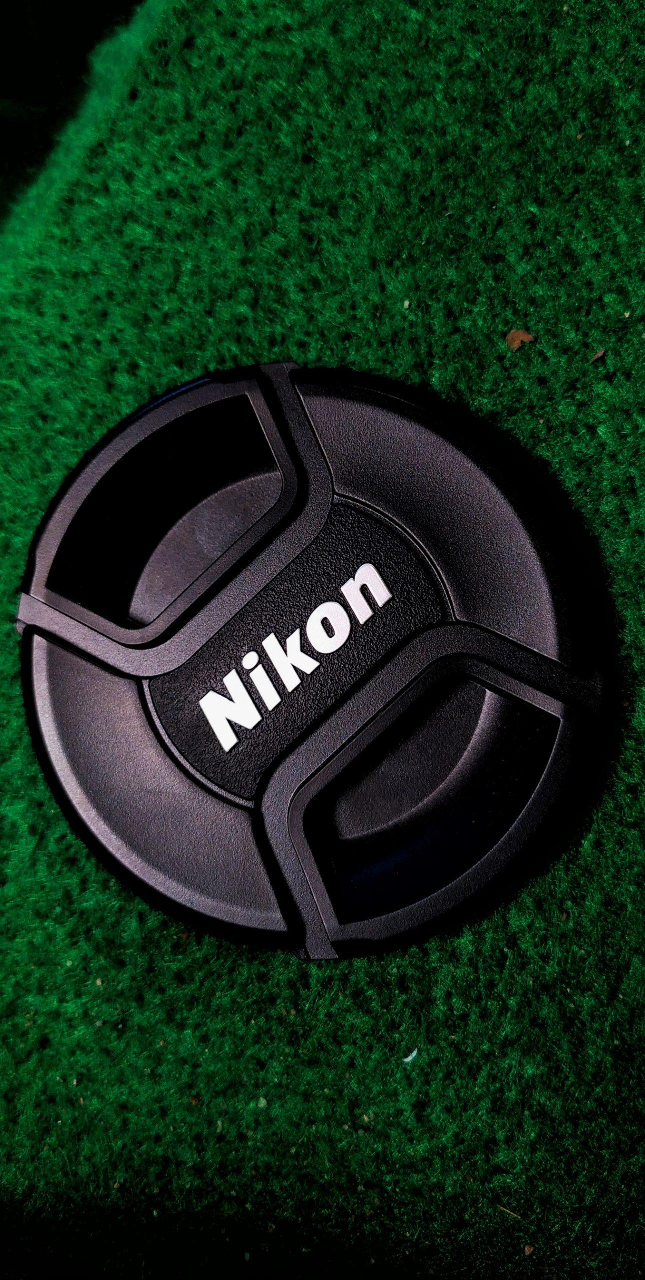 A camera lens cap