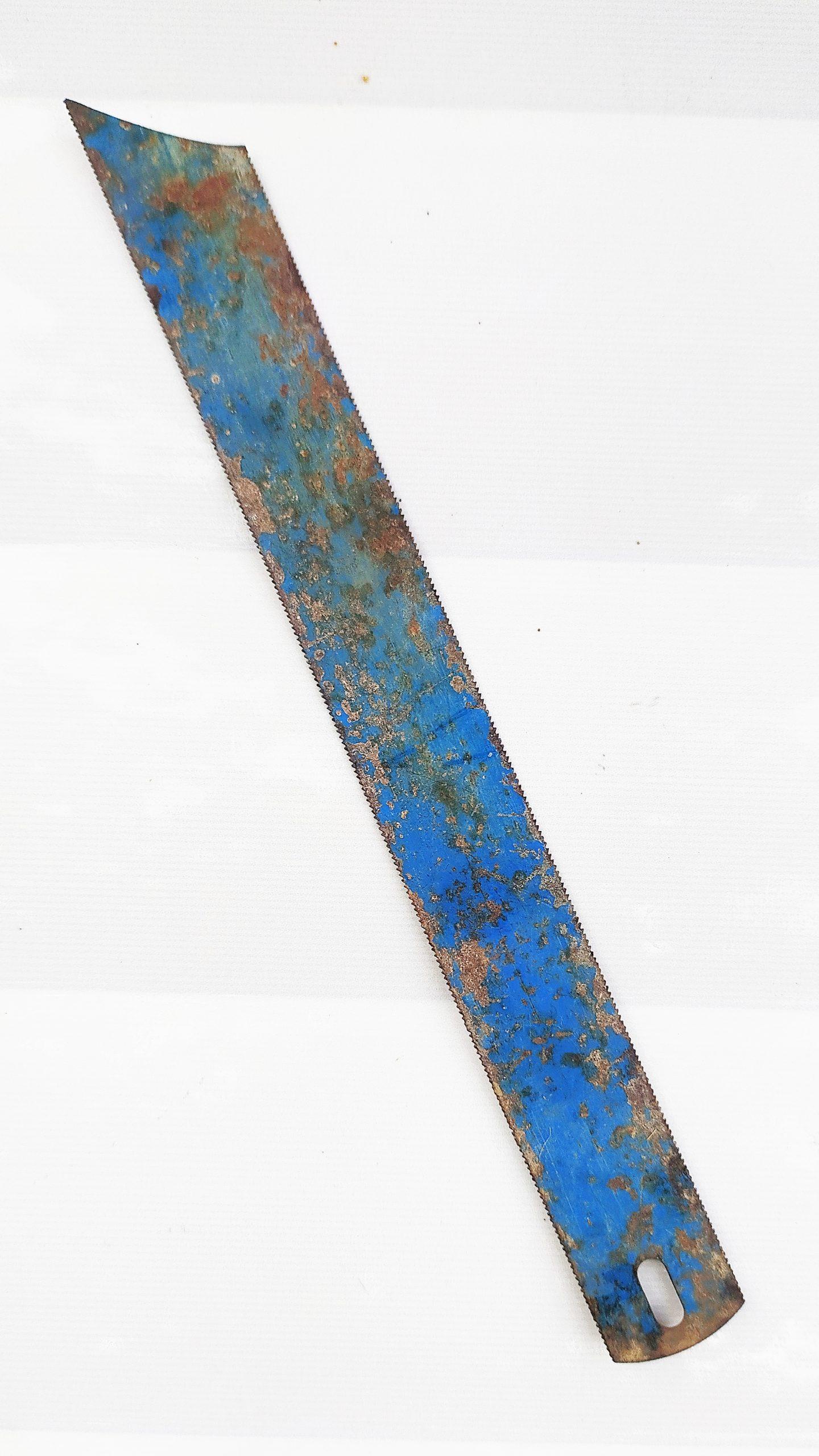 An iron blade
