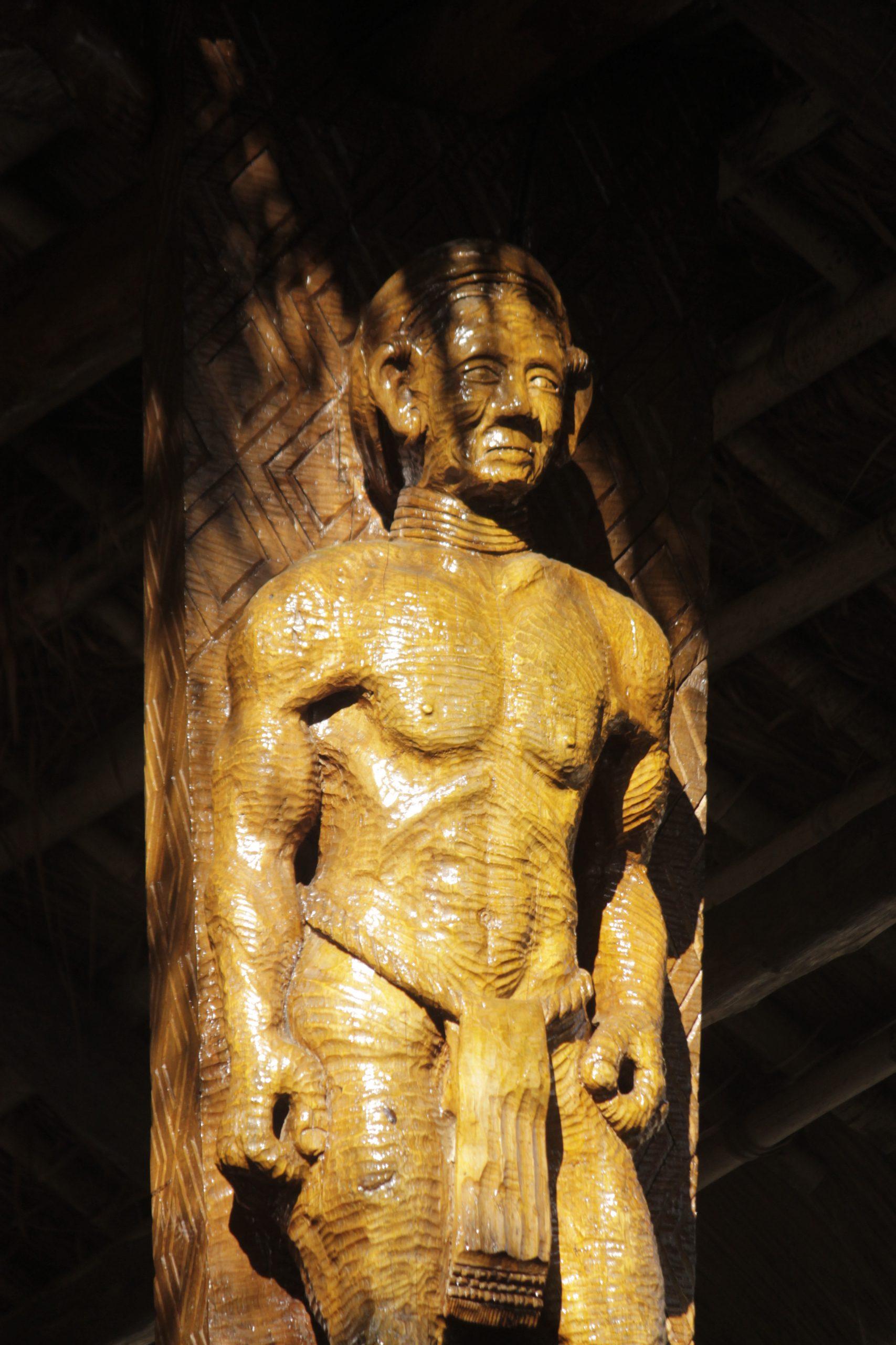 A wooden Sculpture