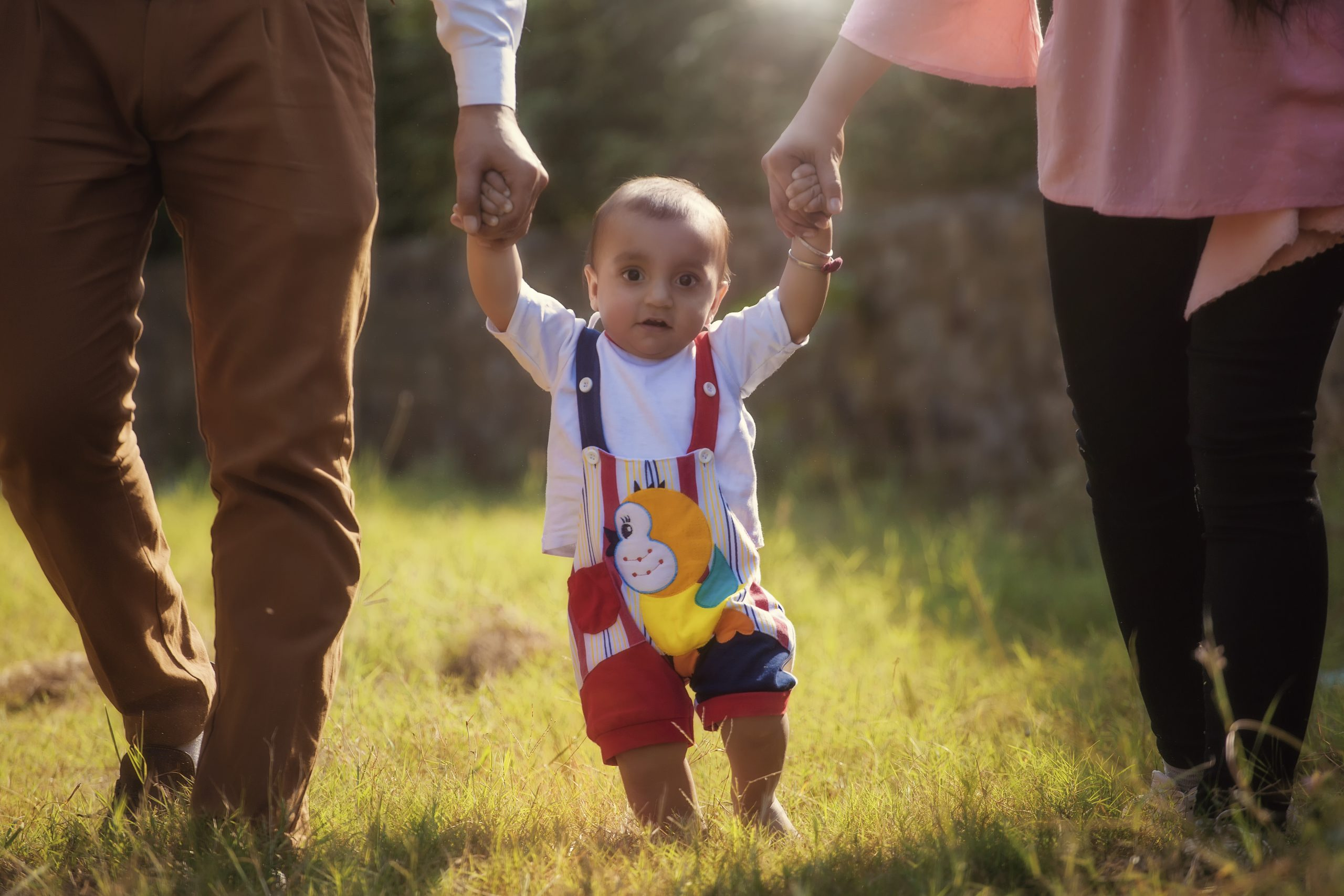 baby kid trying to walk