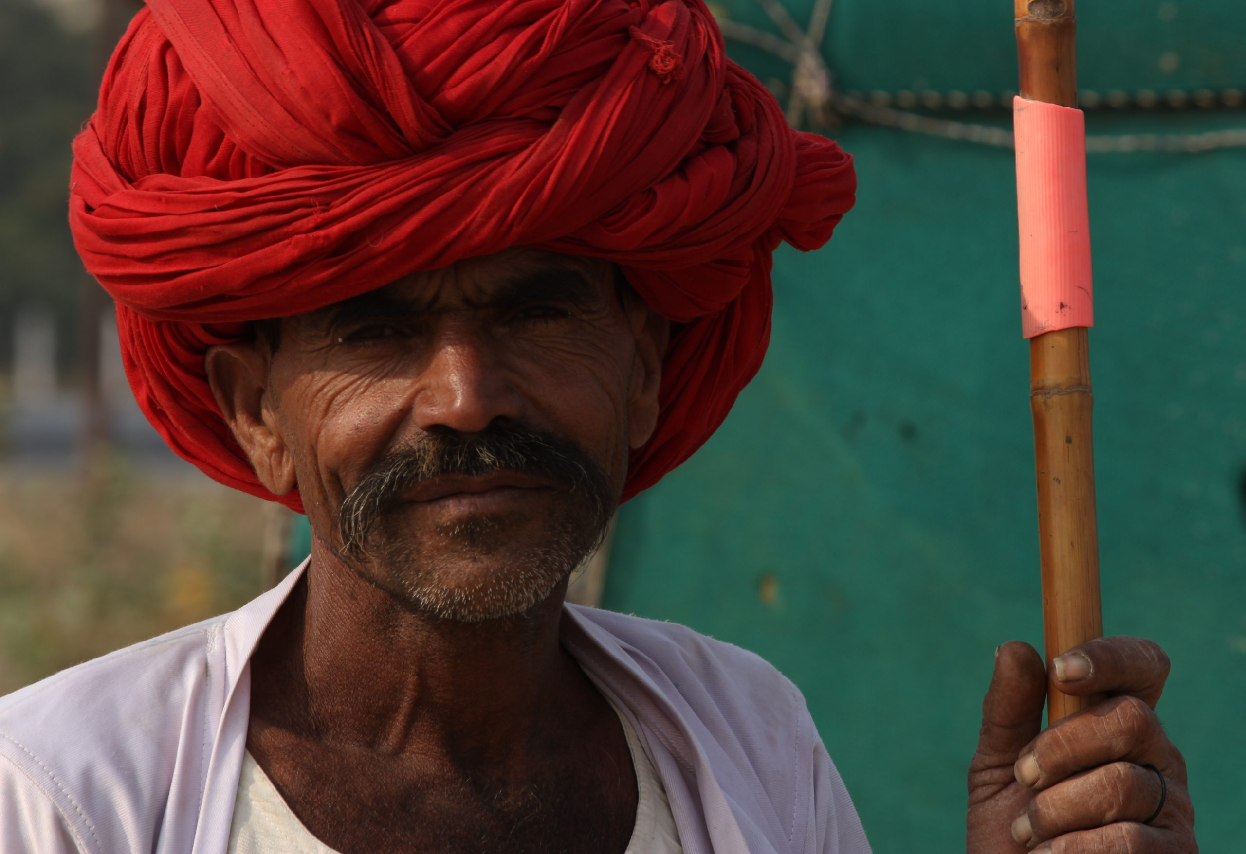 A village man