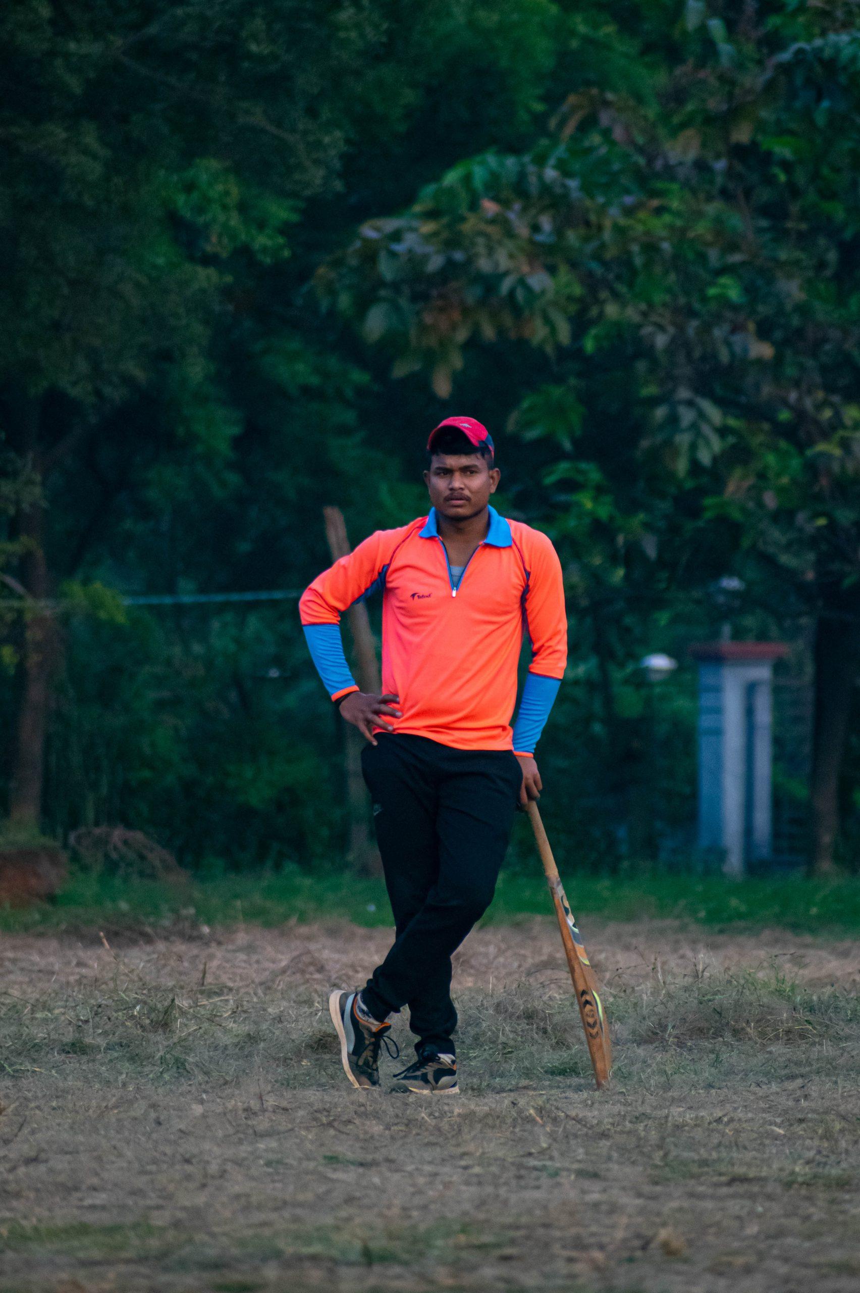 A cricket lover