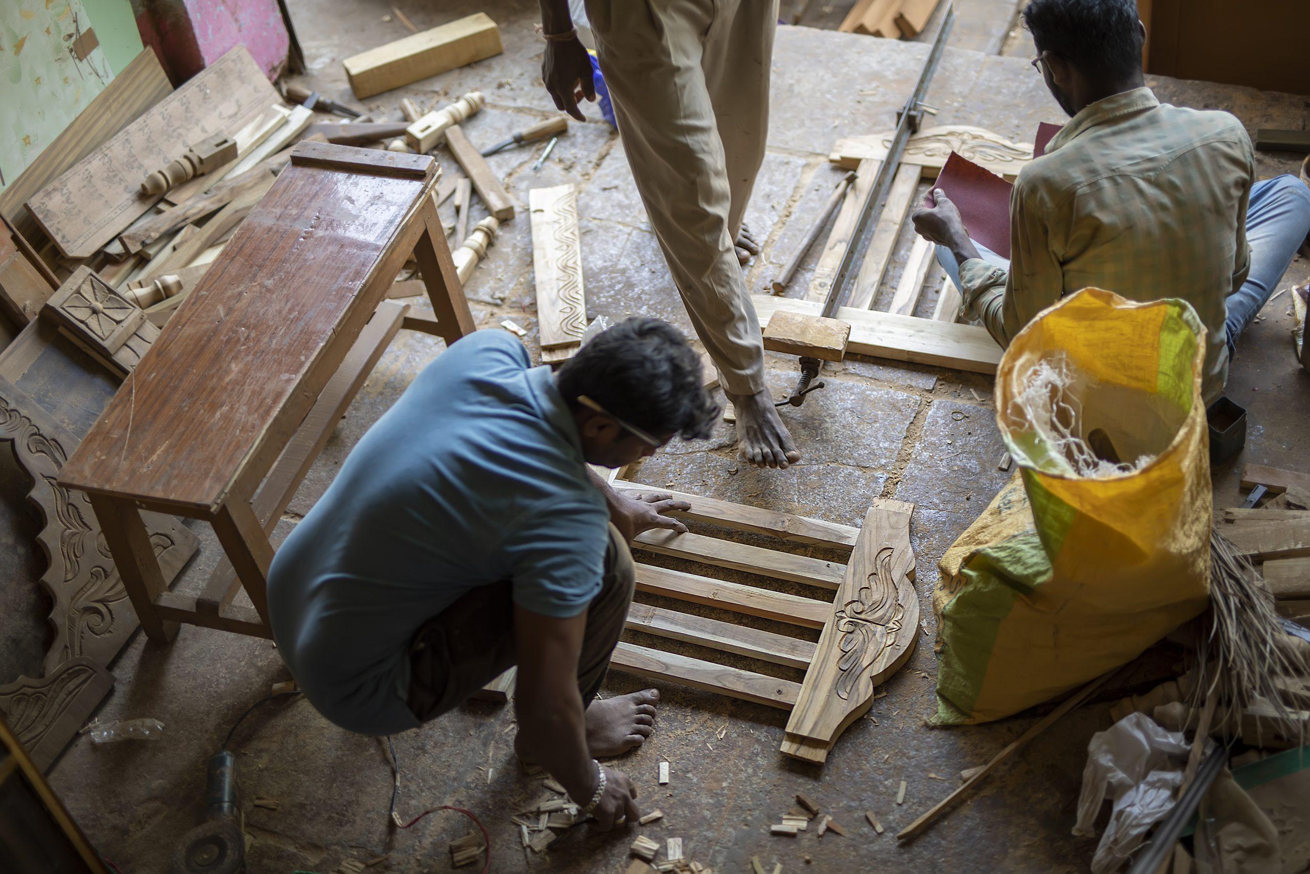 Carpenter wooden work