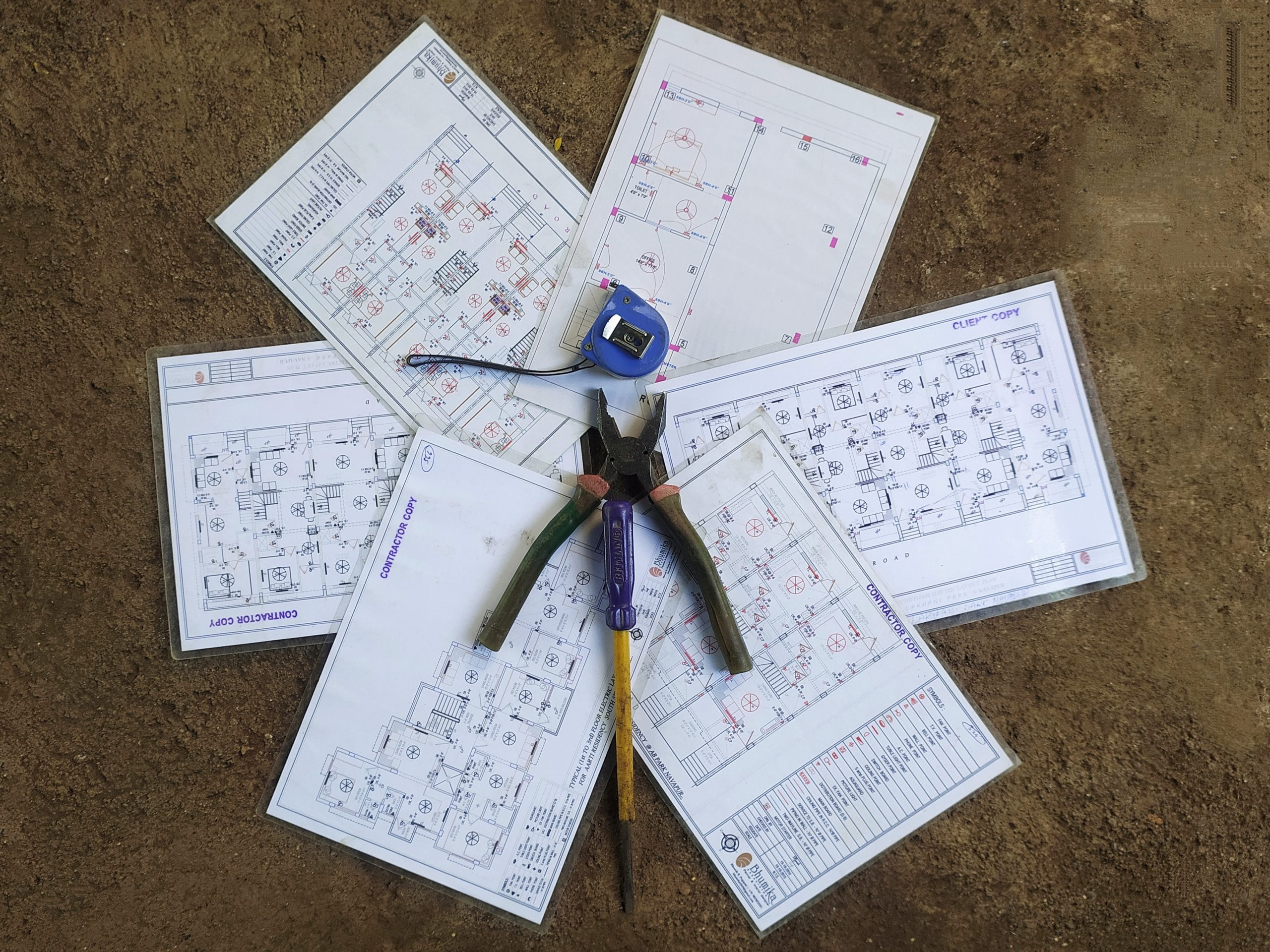 Engineering plans and tools
