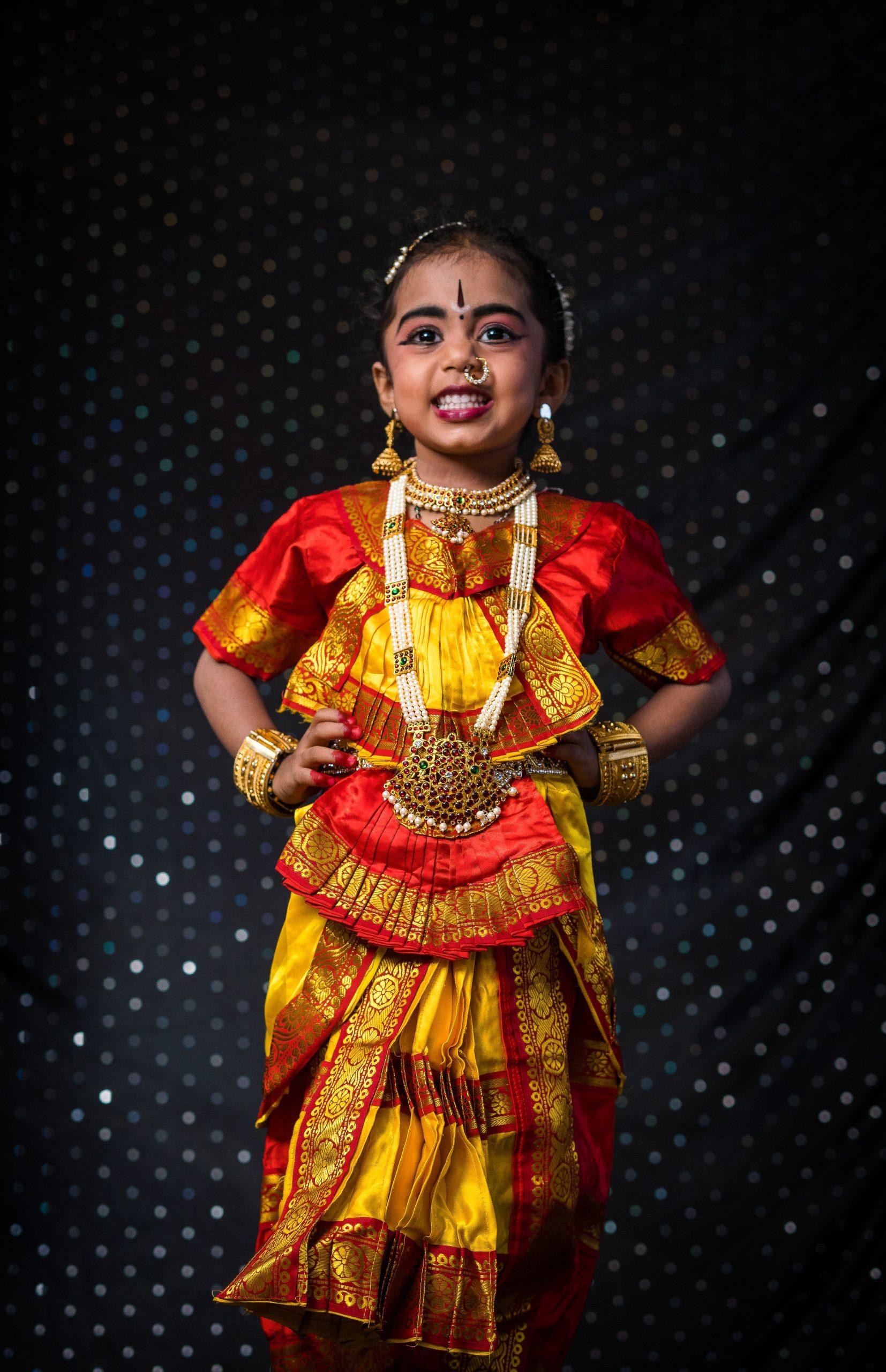 A little girl in dance makeover