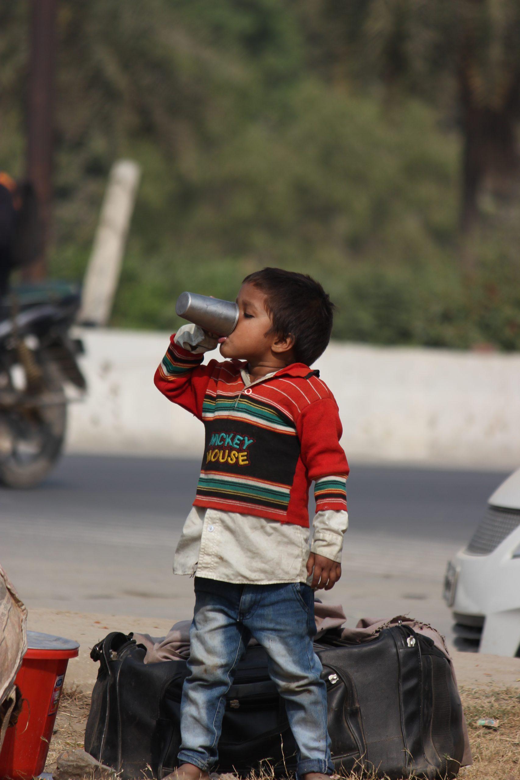 A street kid