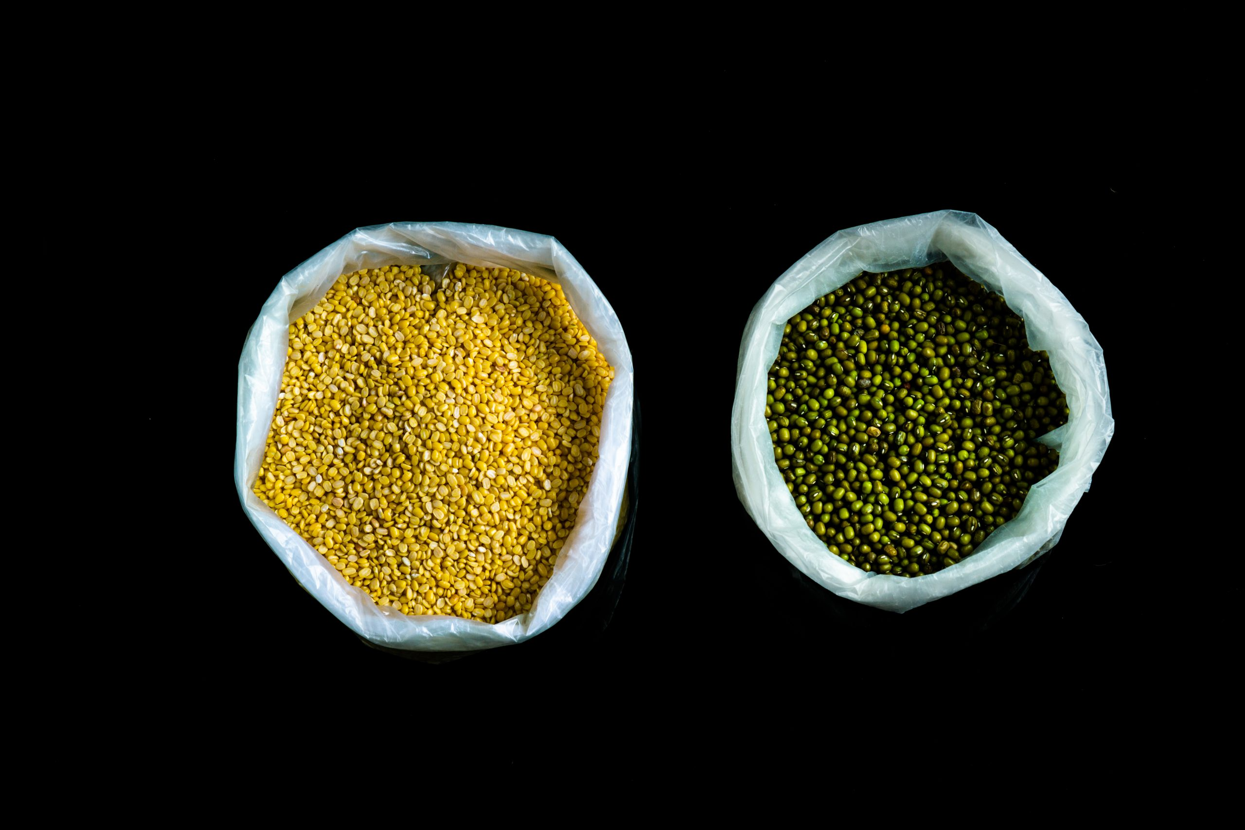 pulses in a bag