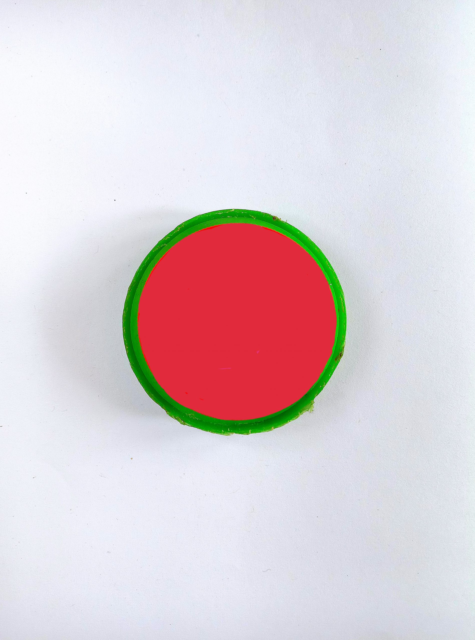 A red bowl