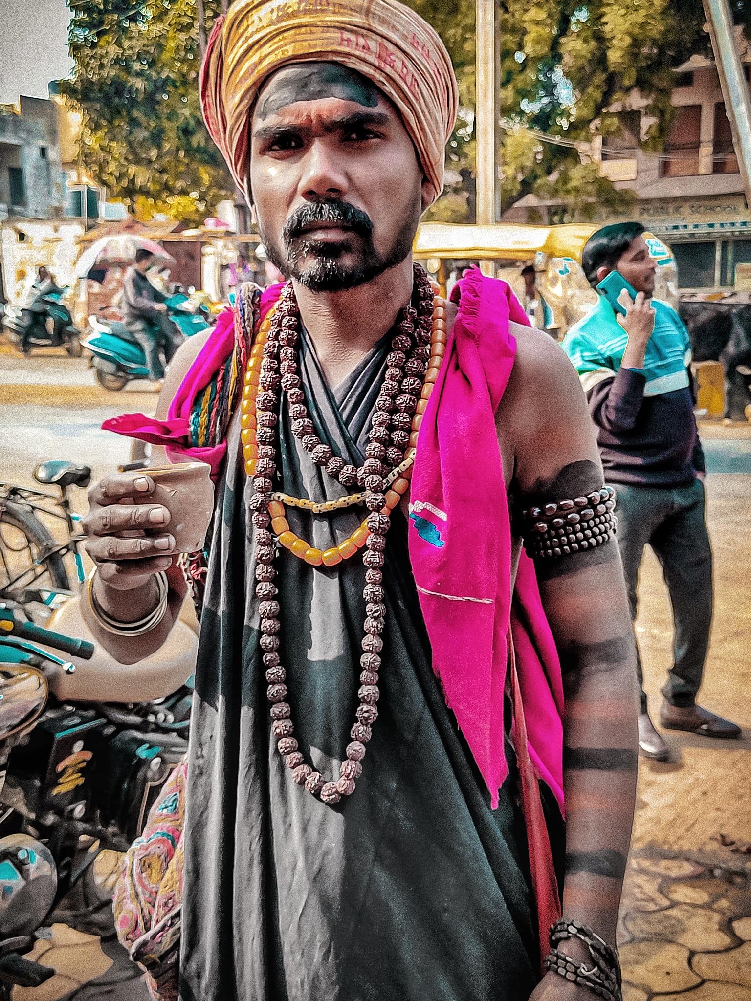A Hindu monk