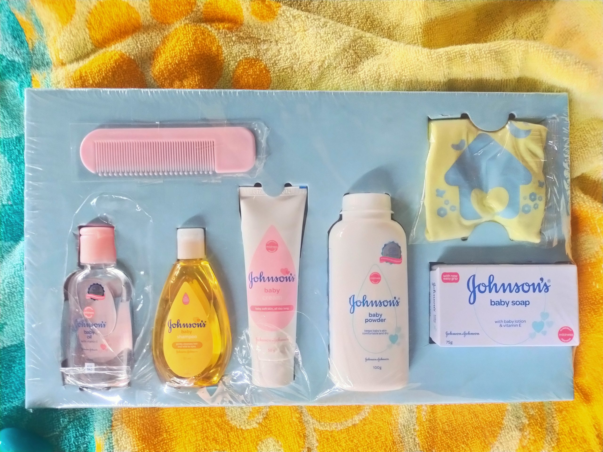 A baby product kit