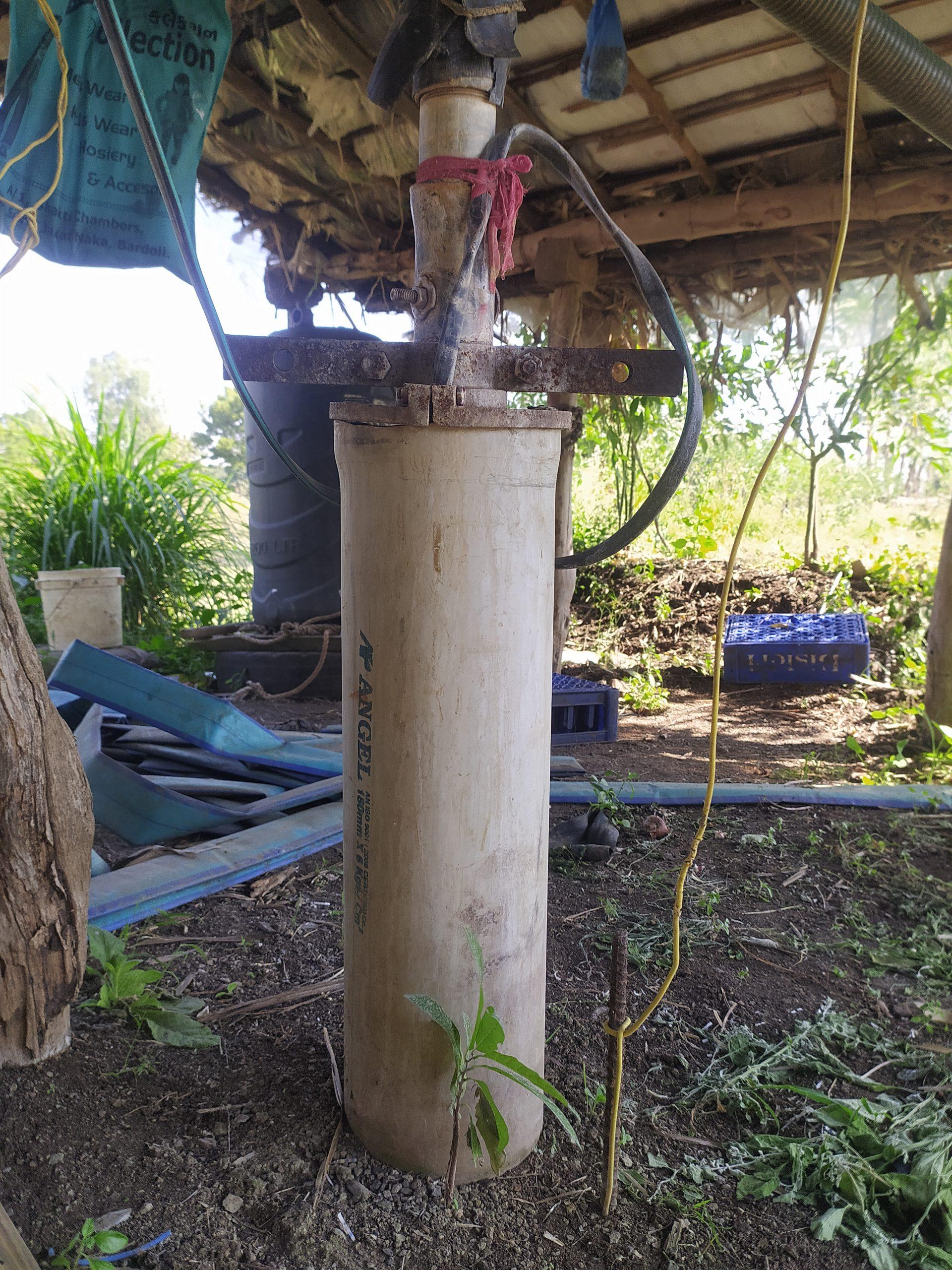 A borewell pump