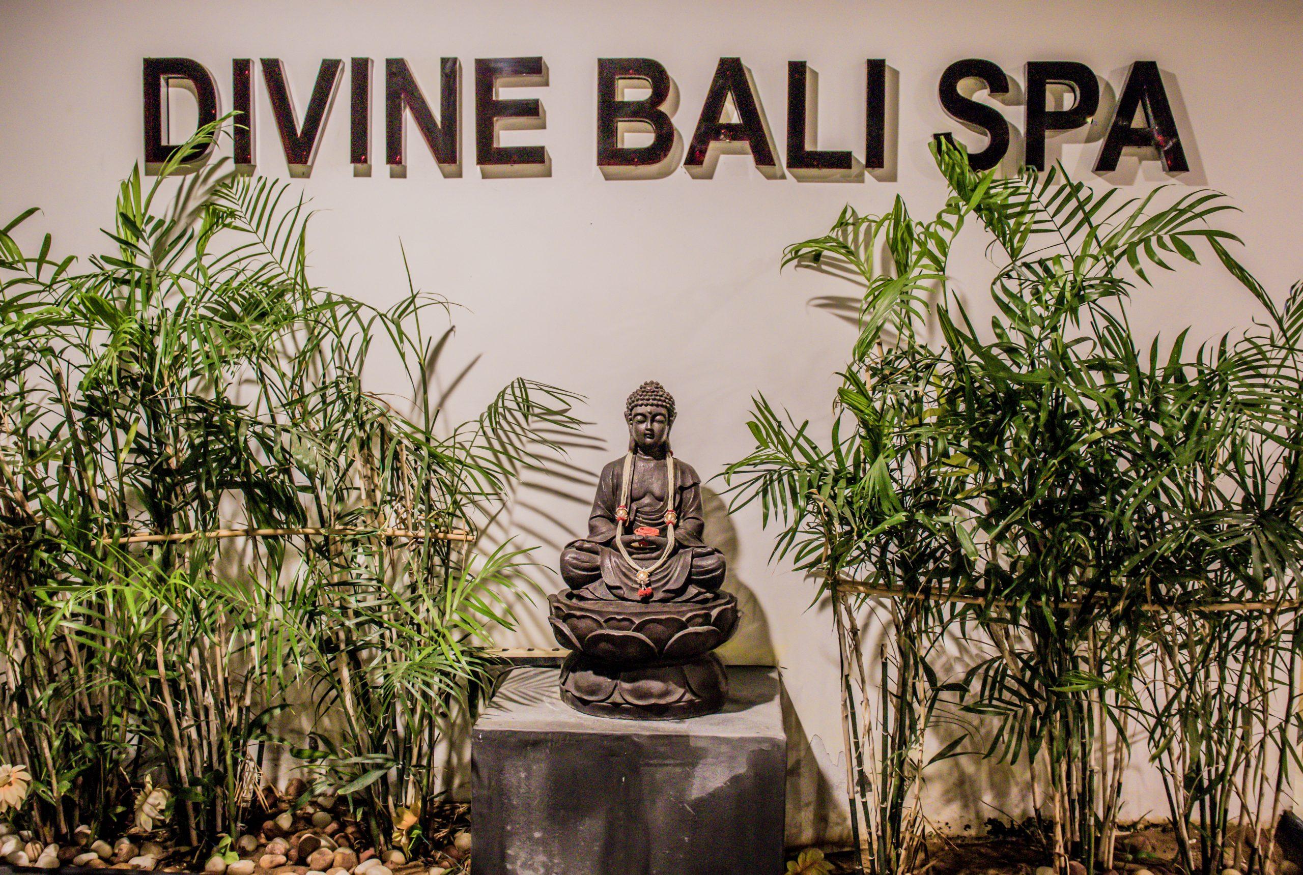 A buddha statue