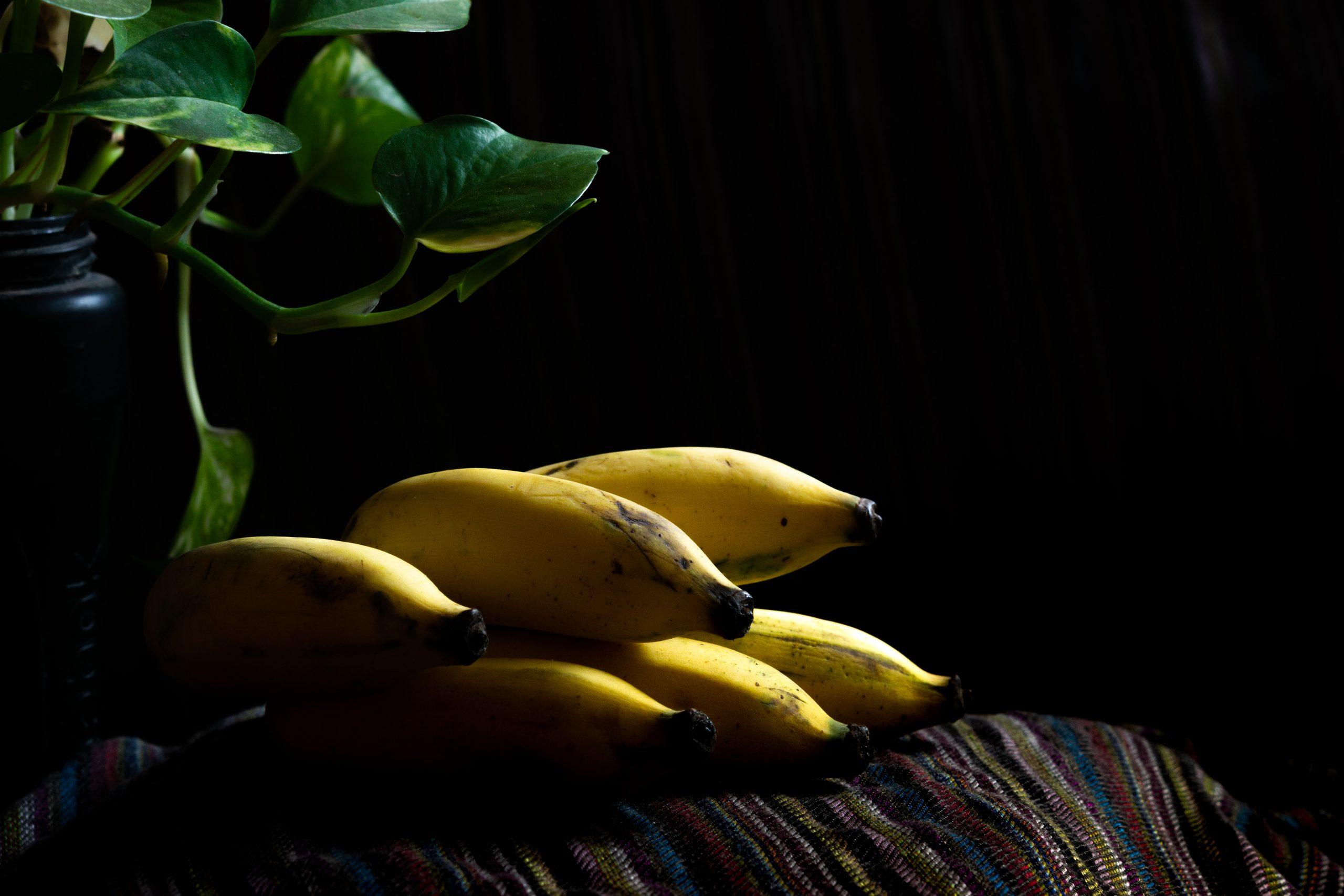 A bananas cluster