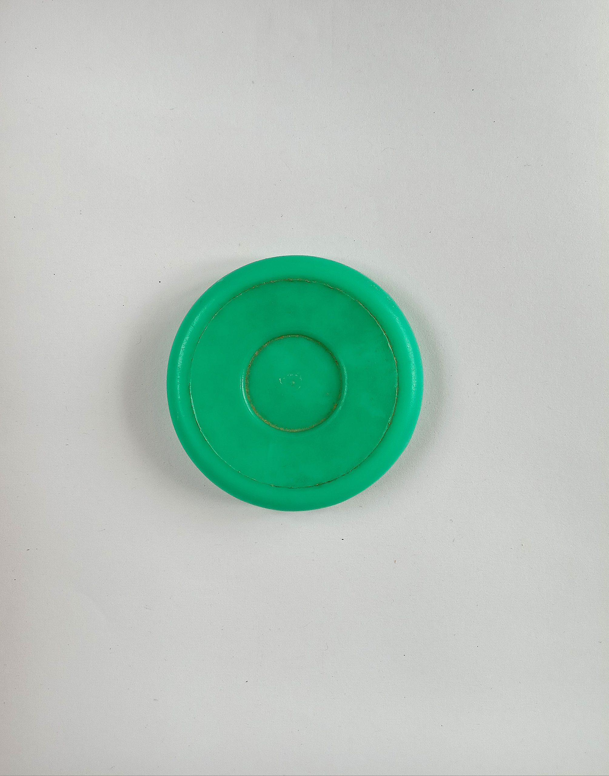 A plastic cap