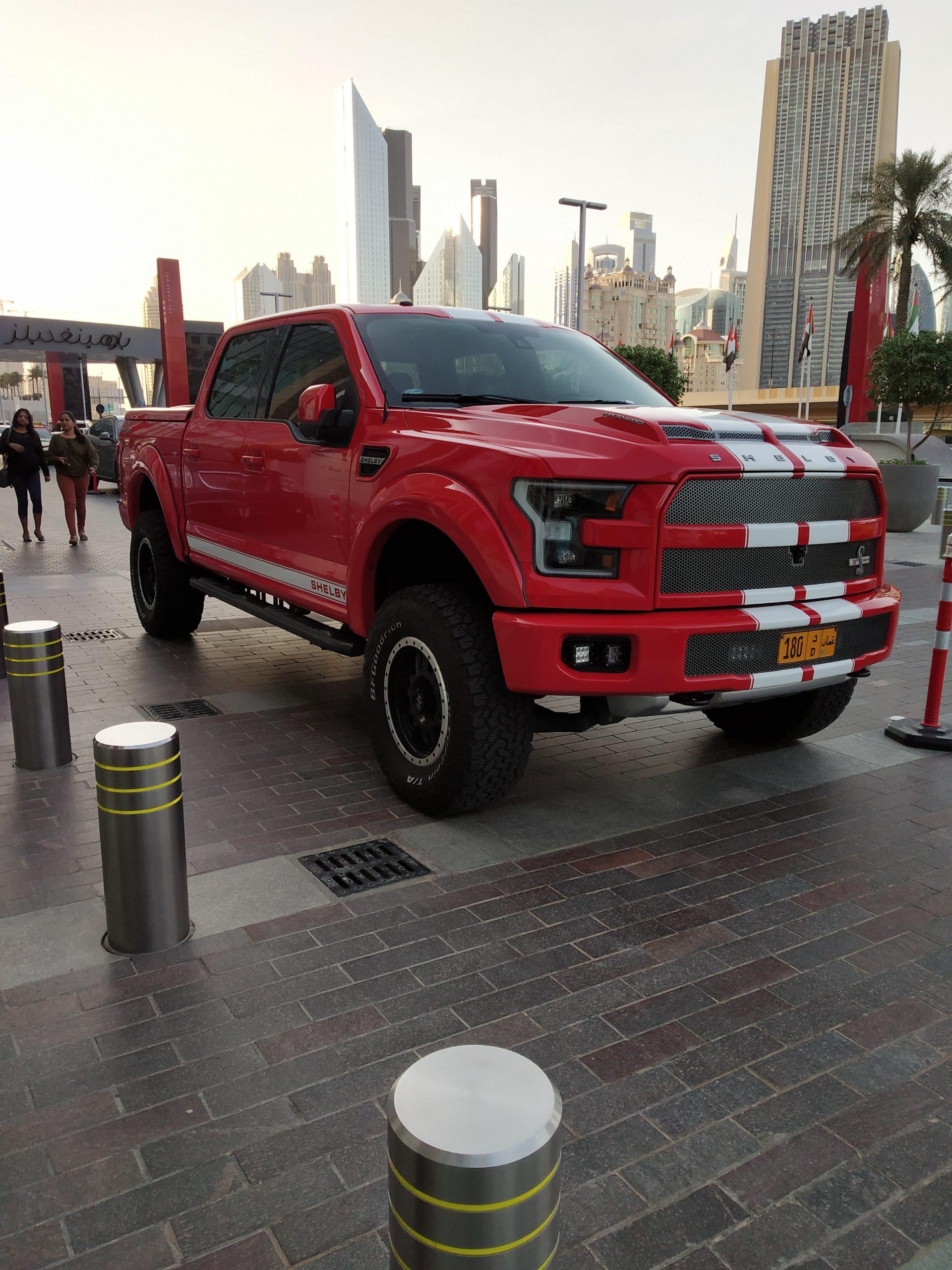 A car in Dubai