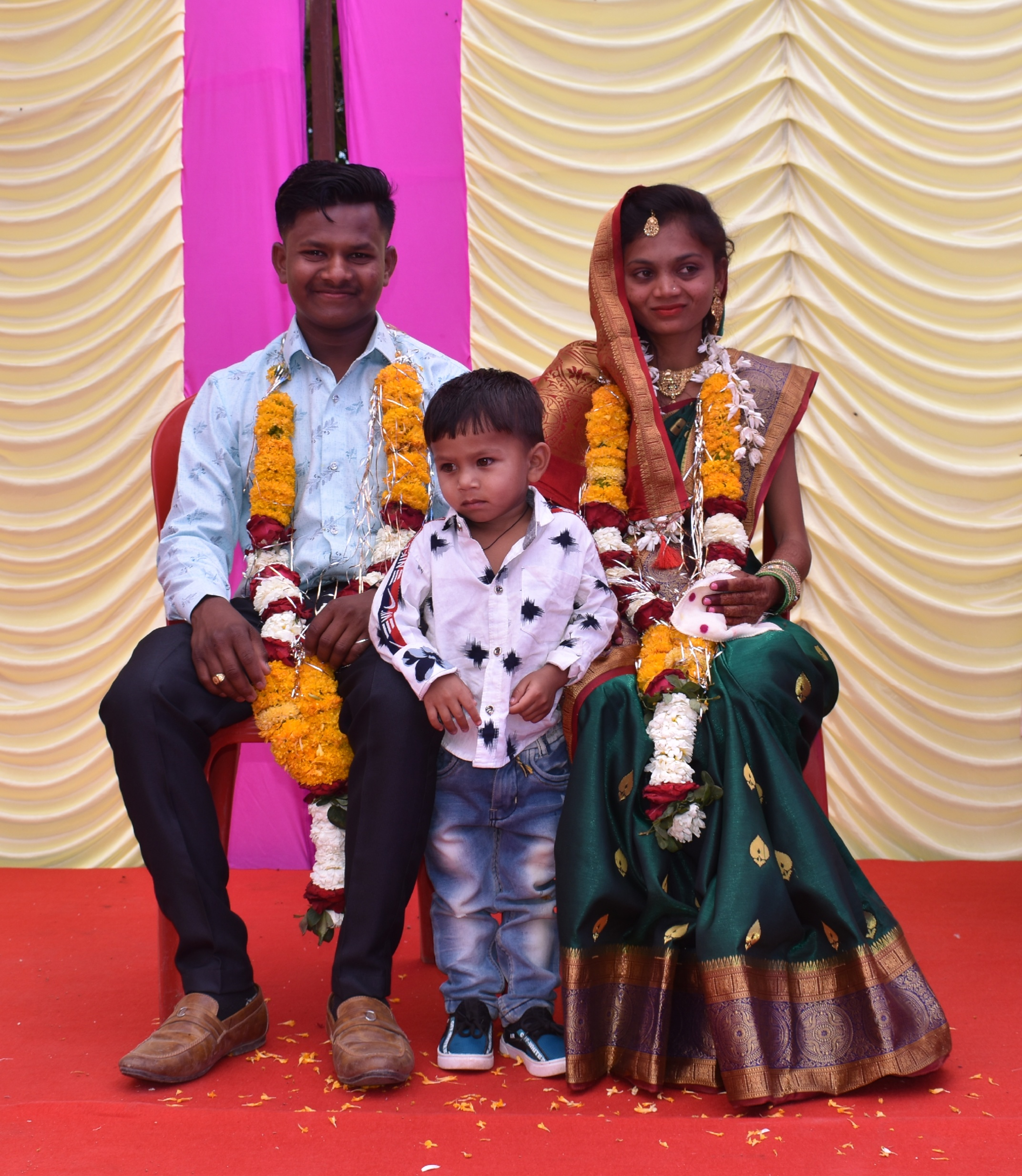 A couple with kid