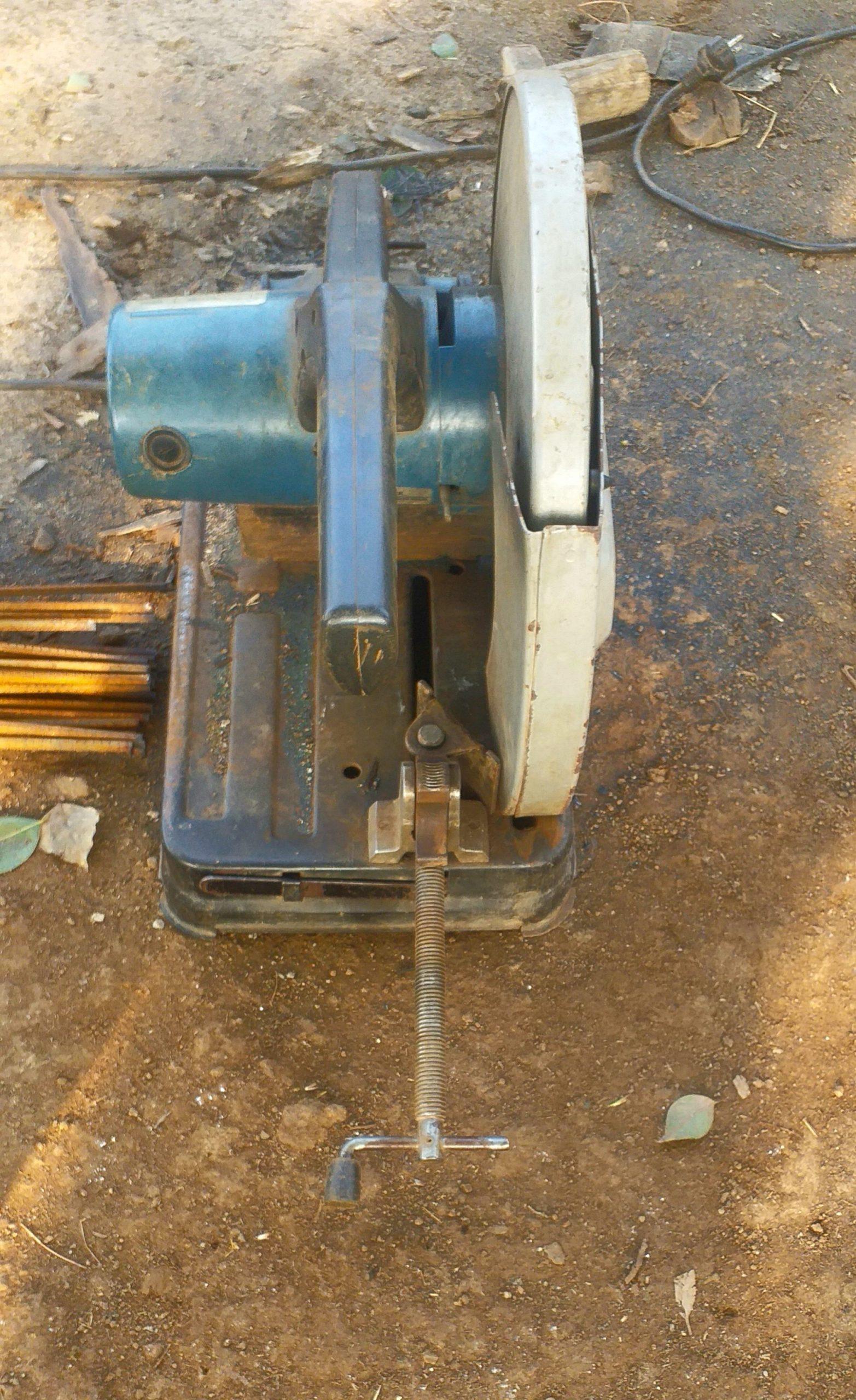 A cutter machine