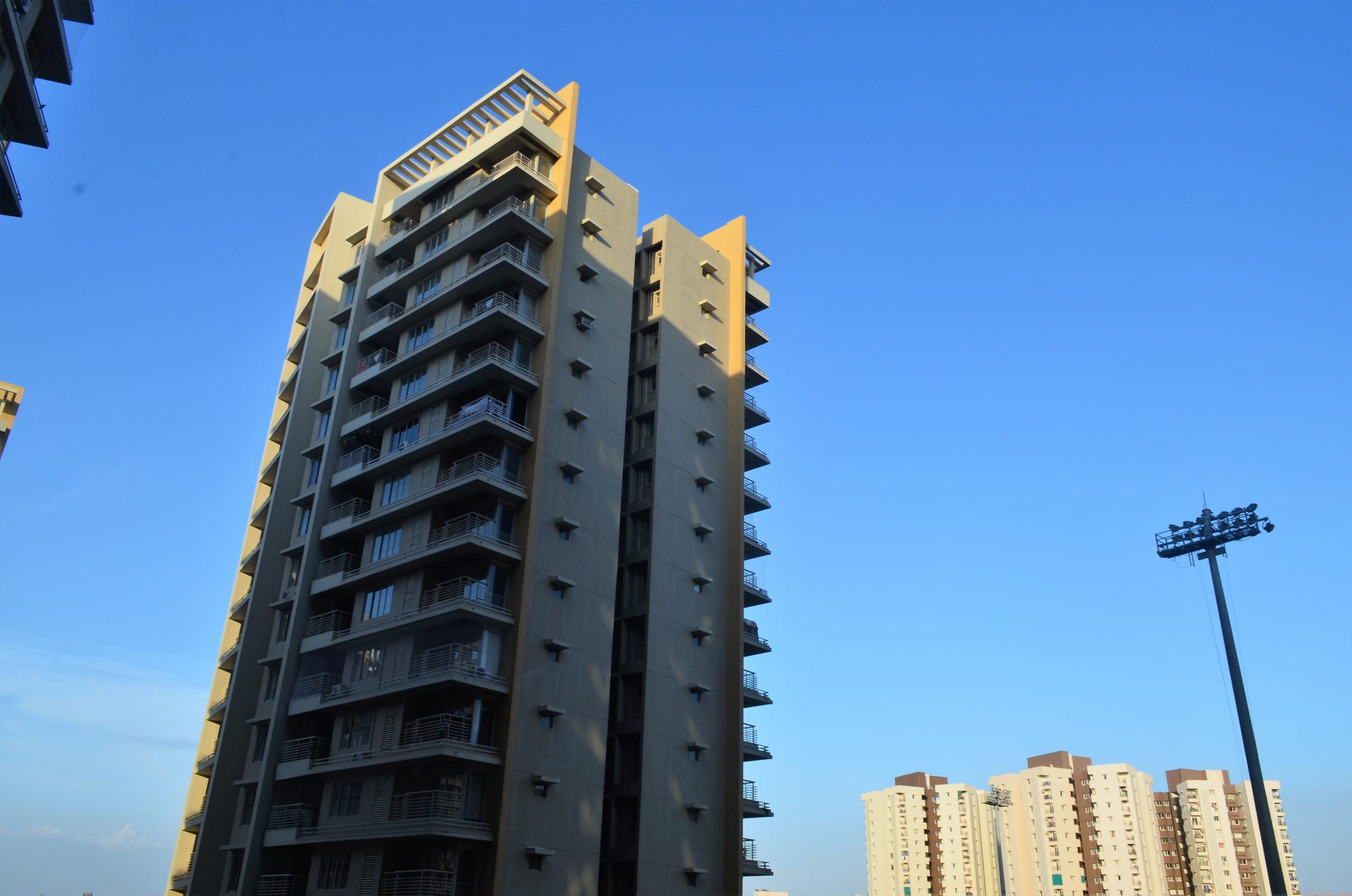A high building