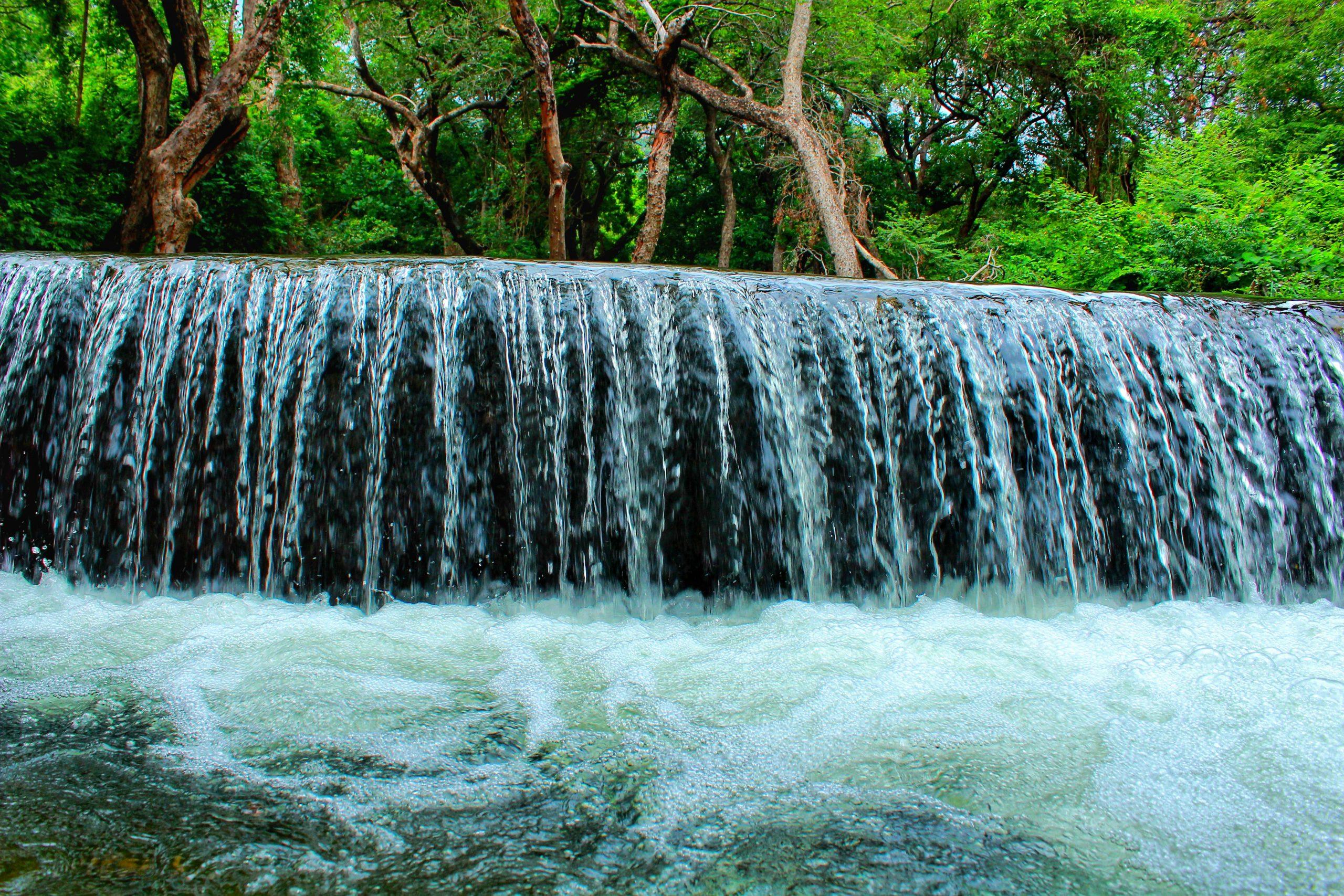 A mini waterfall