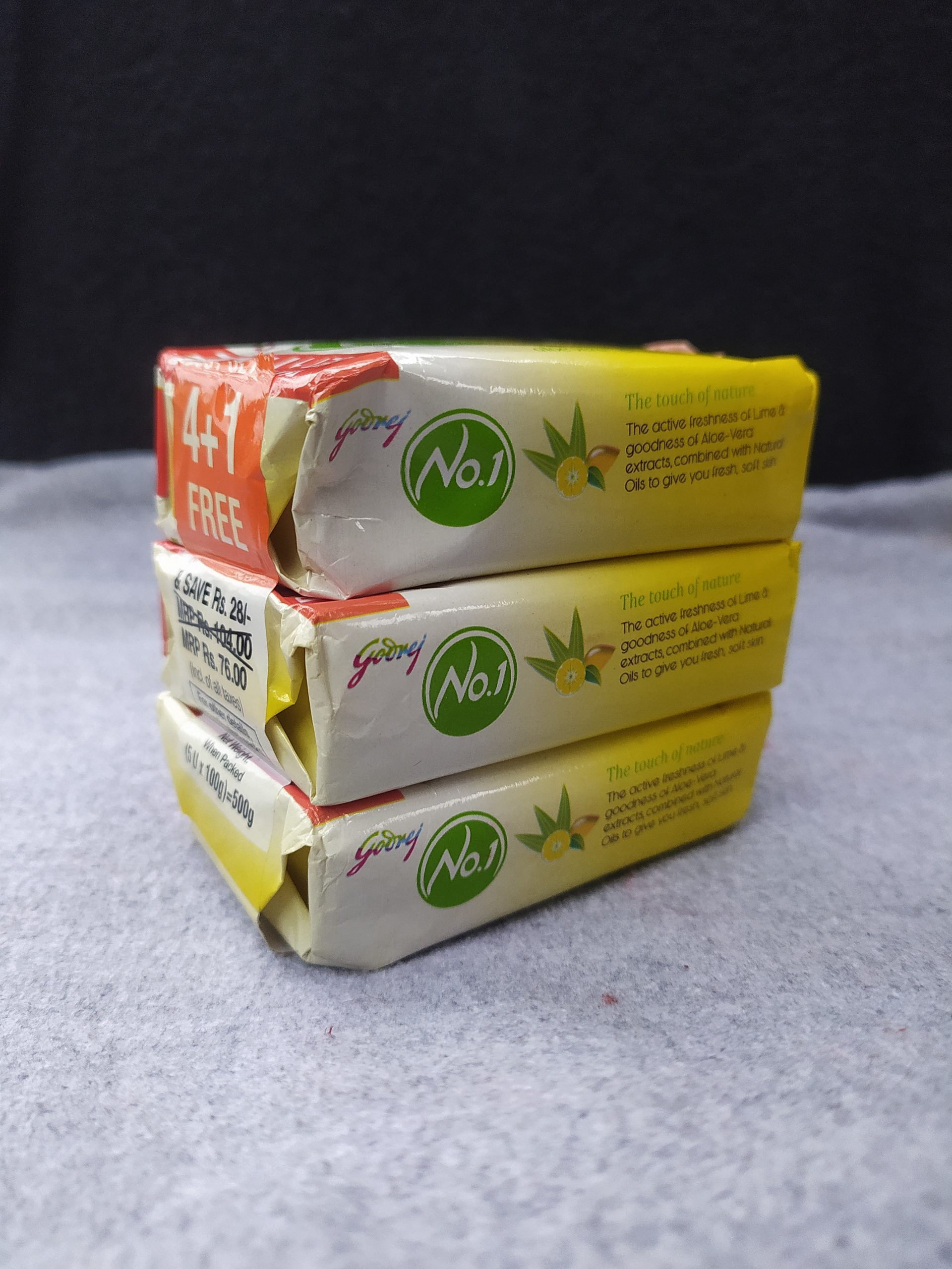 A pack of soaps